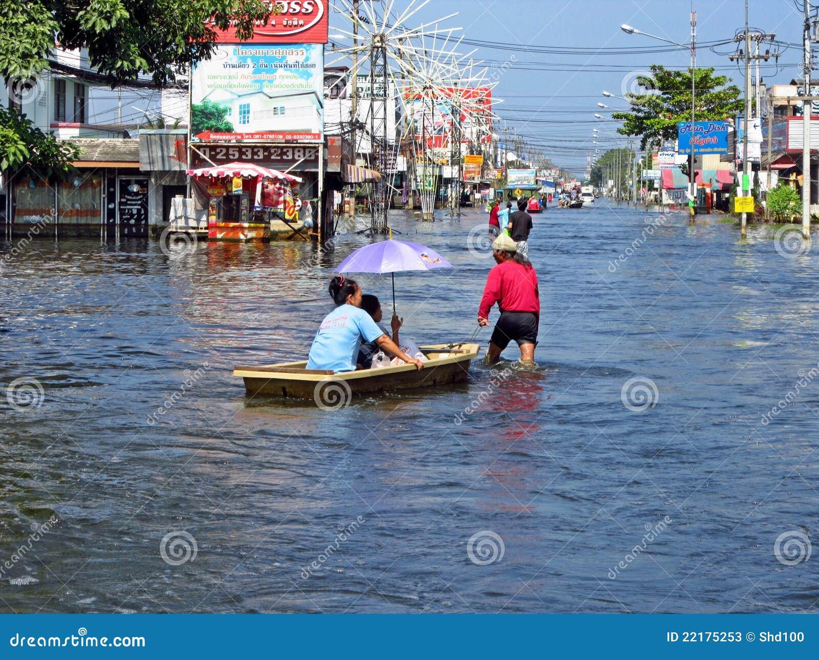 πλημμύρα Ταϊλάνδη
