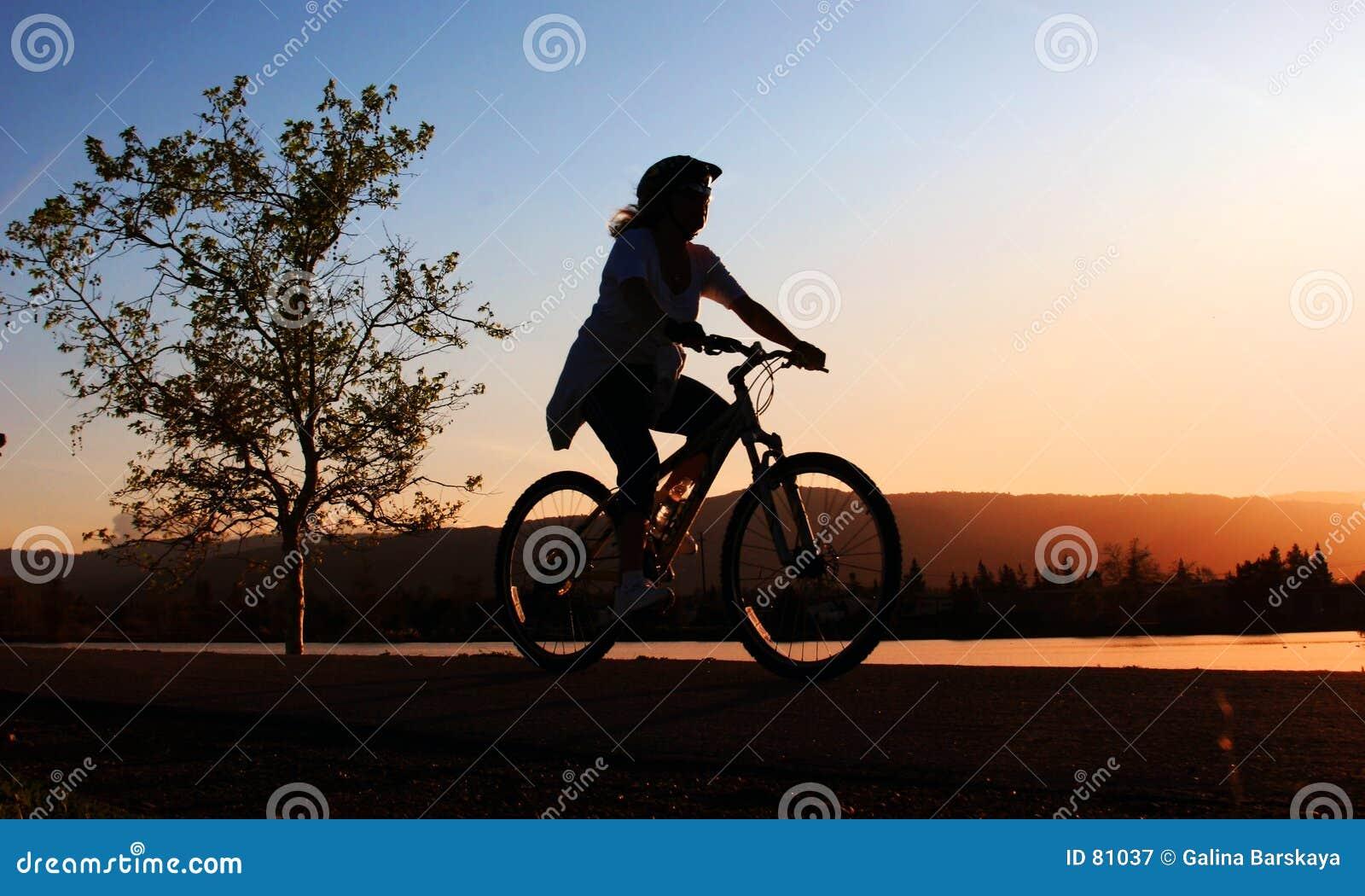 ποδήλατο η οδηγώντας γυ&nu