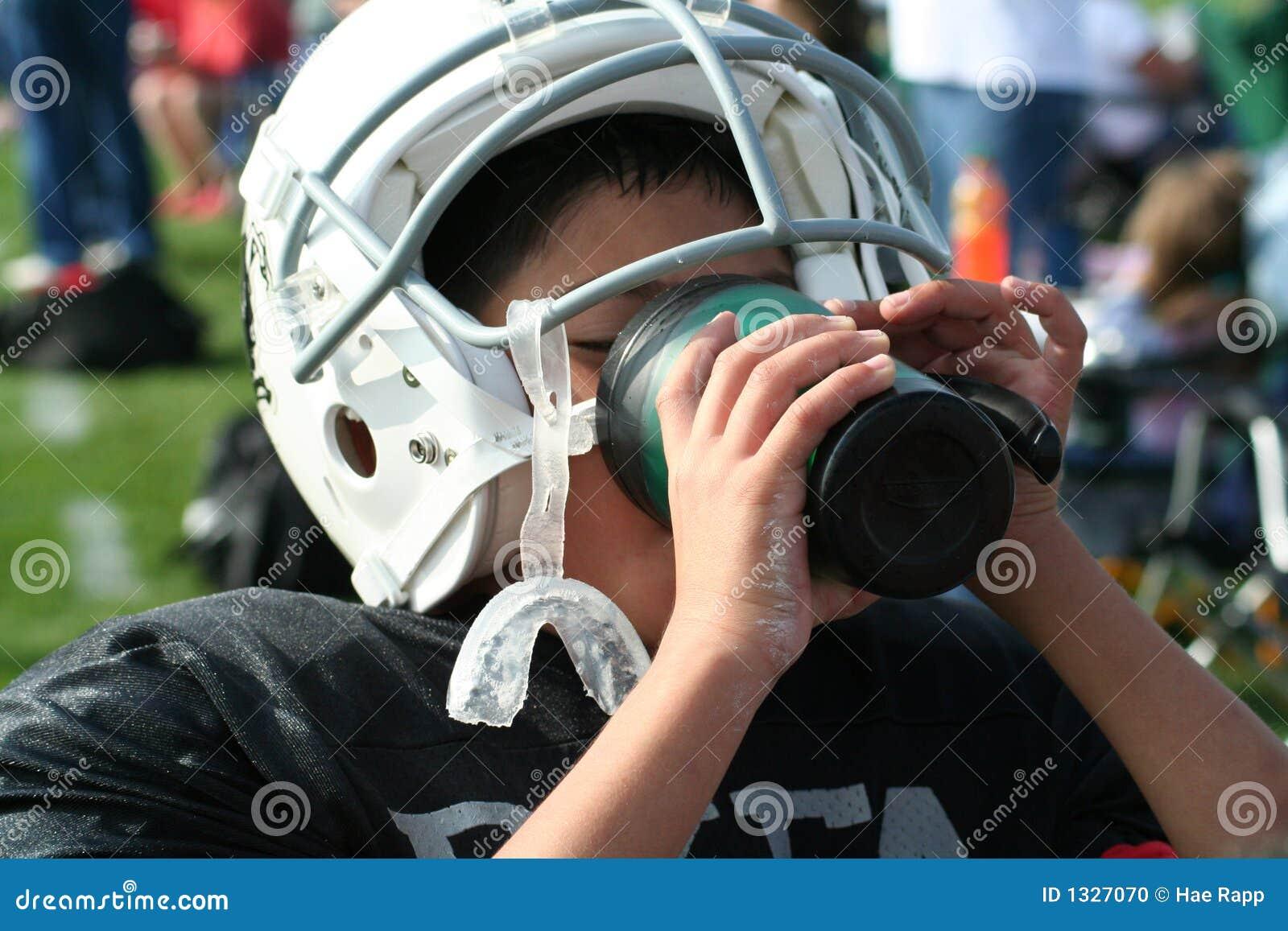 ποδοσφαιριστής διψασμένος