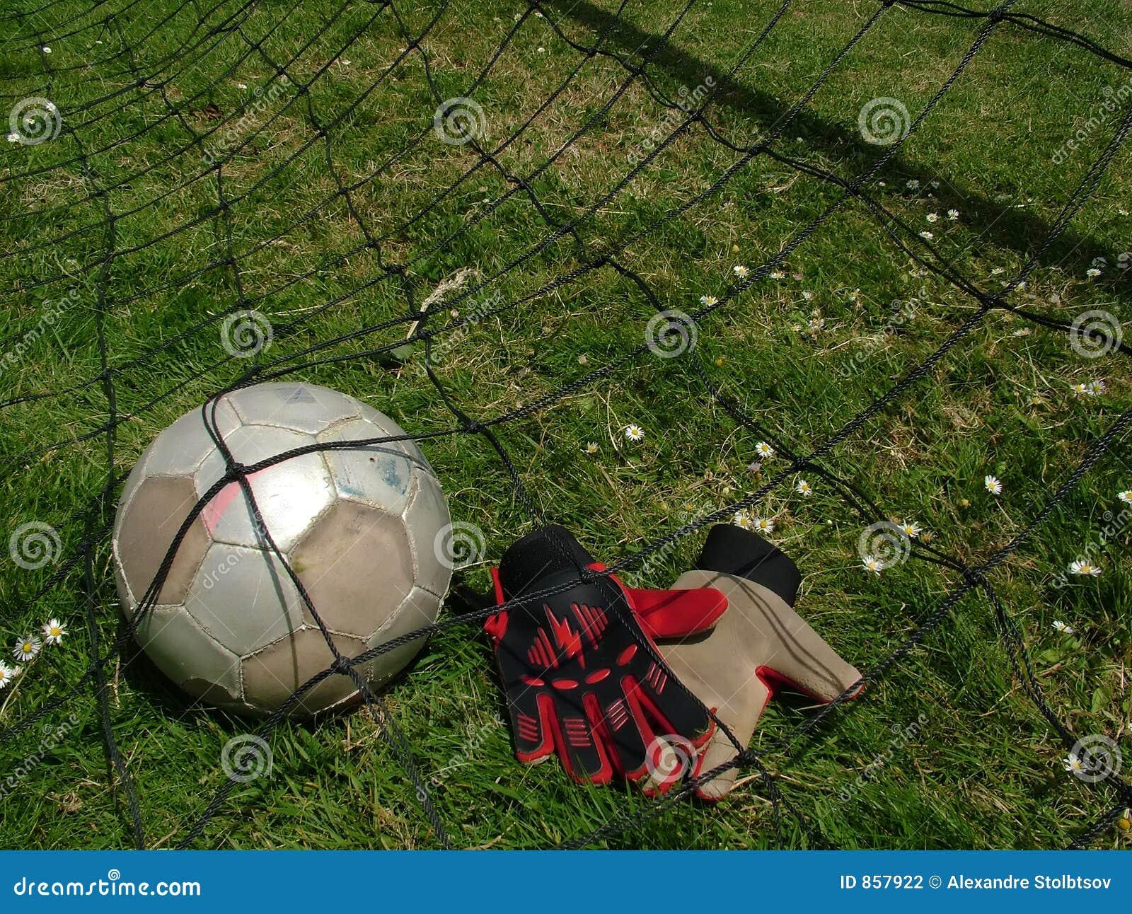 ποδόσφαιρο στόχου ποδοσφαίρου σφαιρών