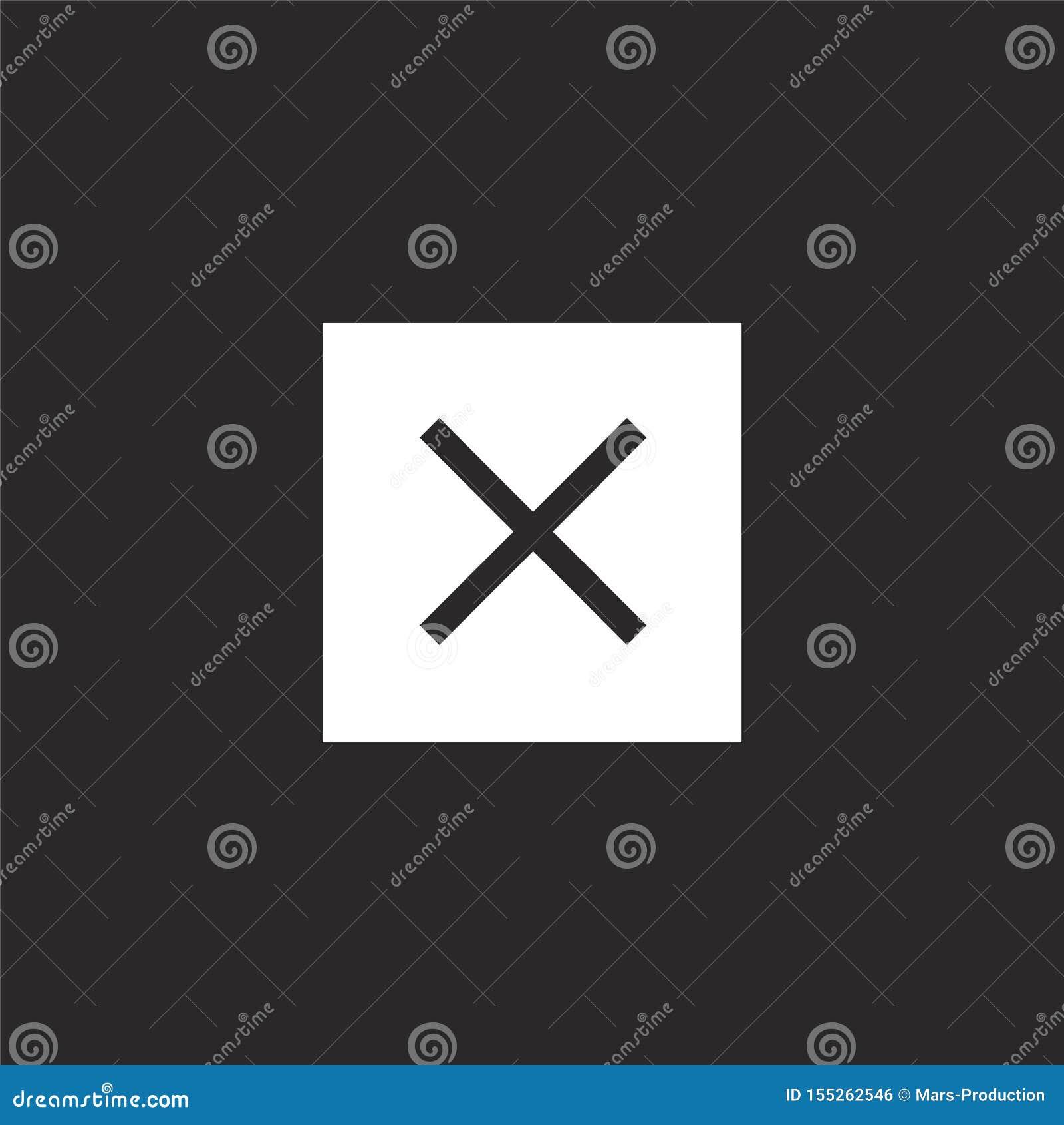 πολλαπλασιάστε το εικονίδιο Γεμισμένος πολλαπλασιάστε το εικονίδιο για το σχέδιο ιστοχώρου και κινητός, app ανάπτυξη πολλαπλασιάσ