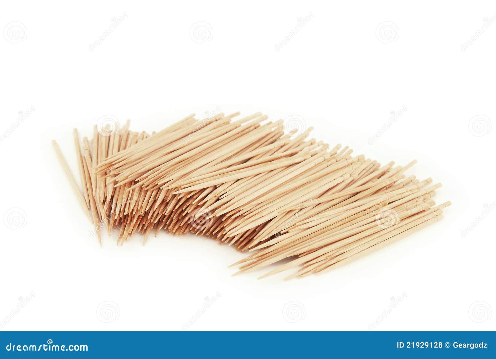 πολύ λευκό toothpick
