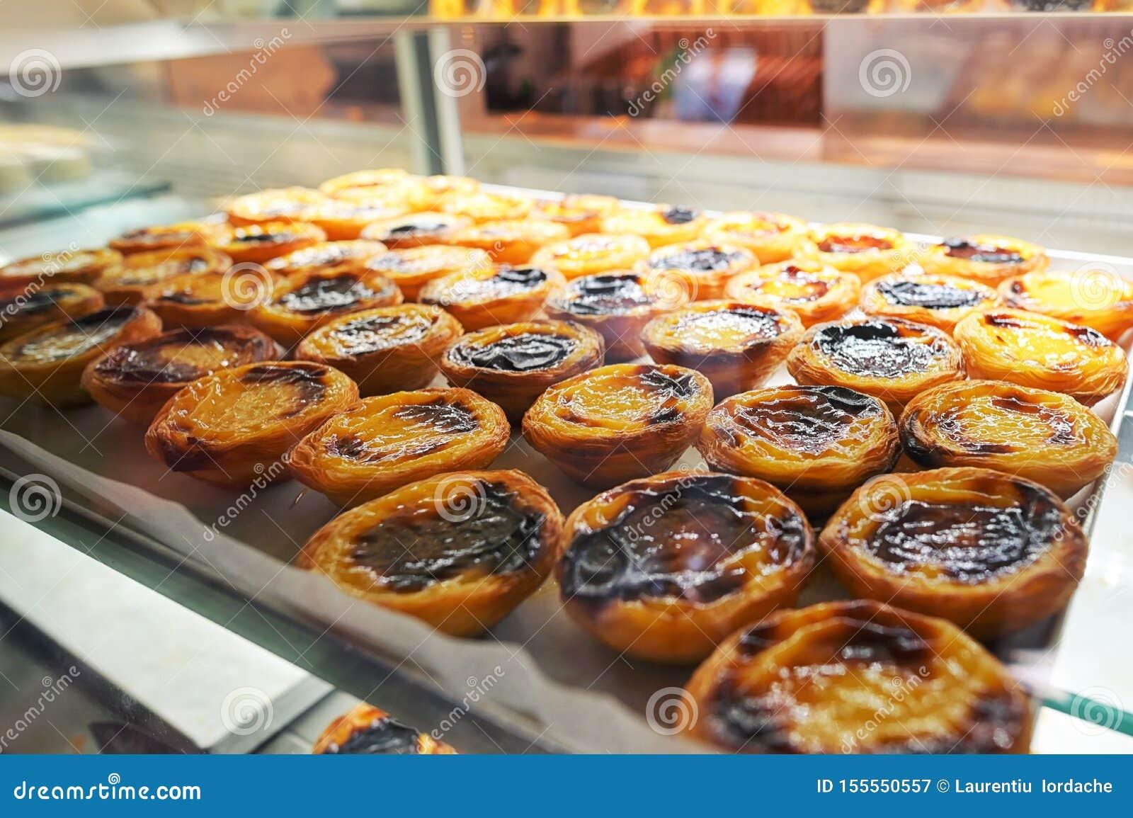 Πορτογαλικά tarts κρέμας