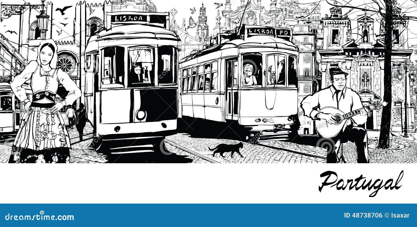 Πορτογαλία - σύνθεση στην πόλη της Λισσαβώνας