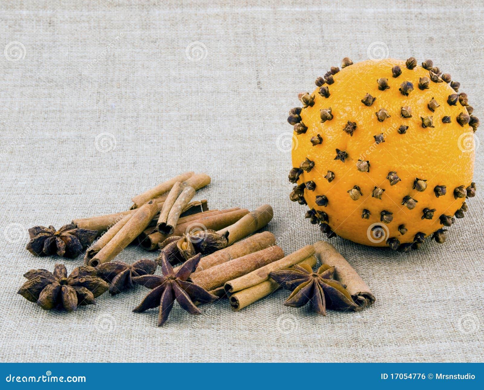 πορτοκάλι λινού γαρίφαλ&omega