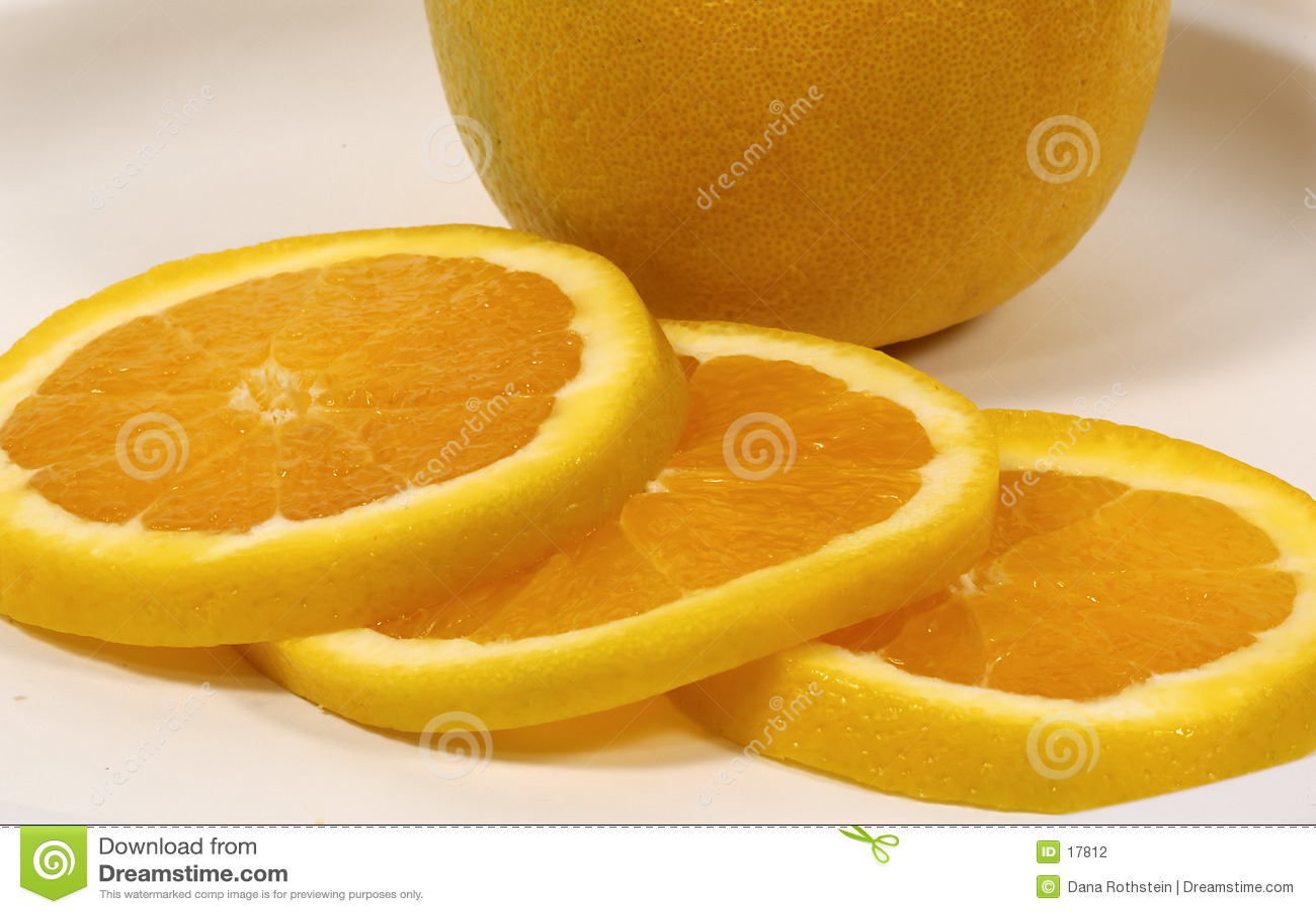 πορτοκάλι που τεμαχίζετ&