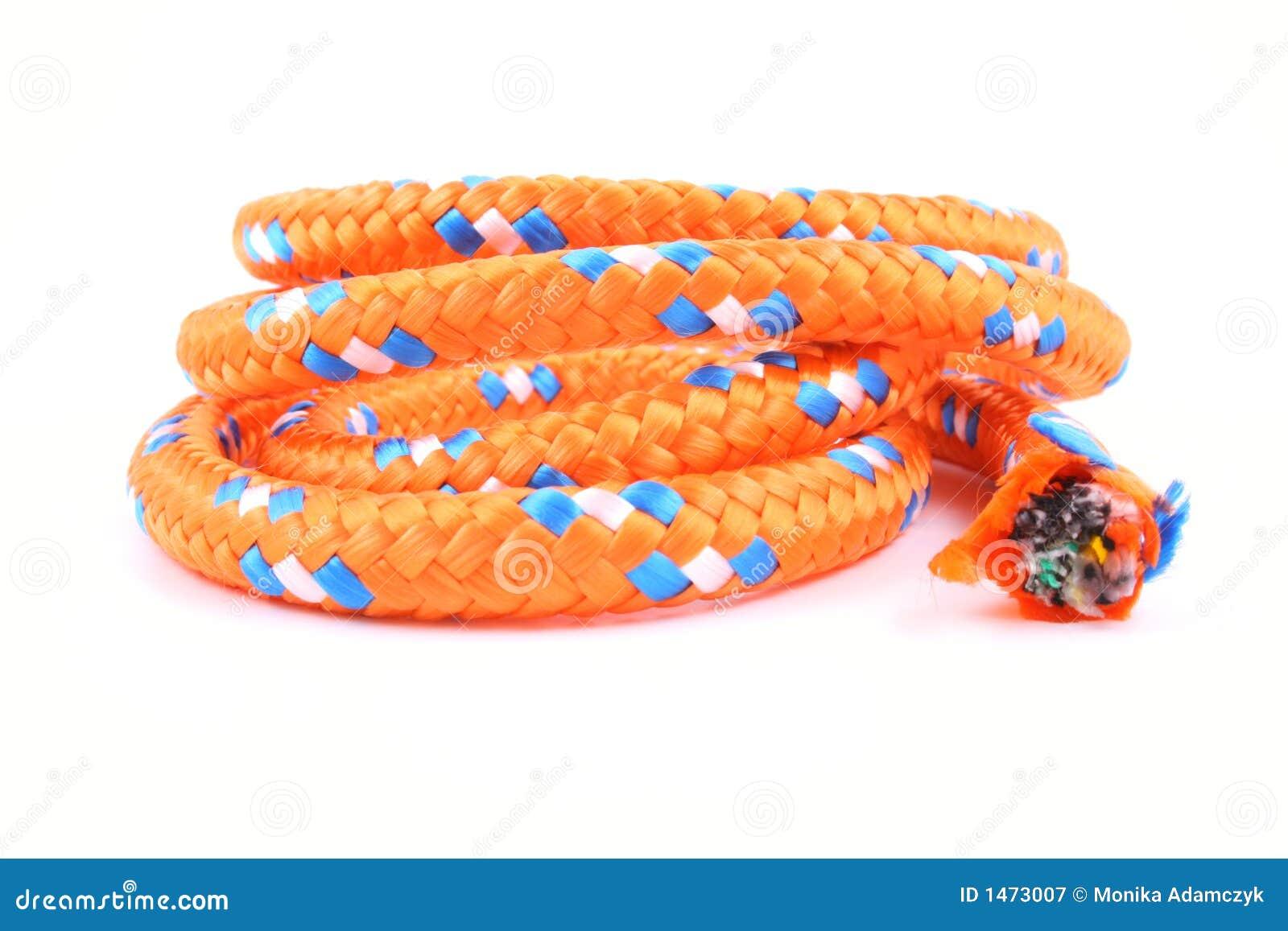 πορτοκαλί σχοινί