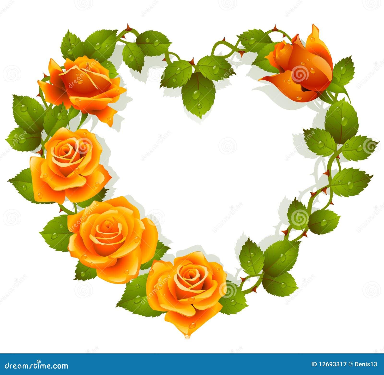 πορτοκαλιά μορφή τριαντάφ&upsi