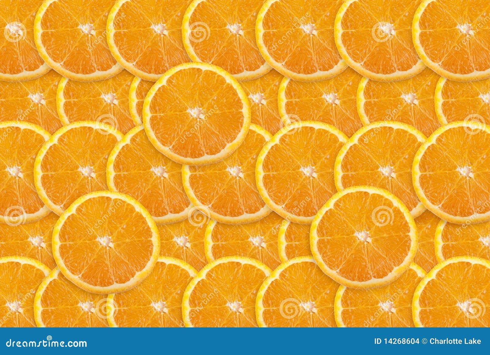 πορτοκαλιά φέτα ανασκόπησ