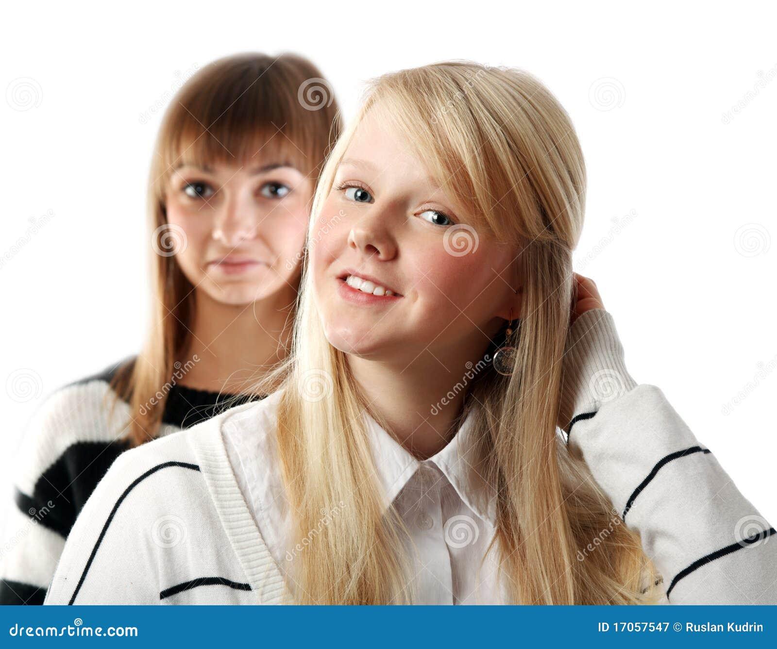 πορτρέτο δύο κοριτσιών