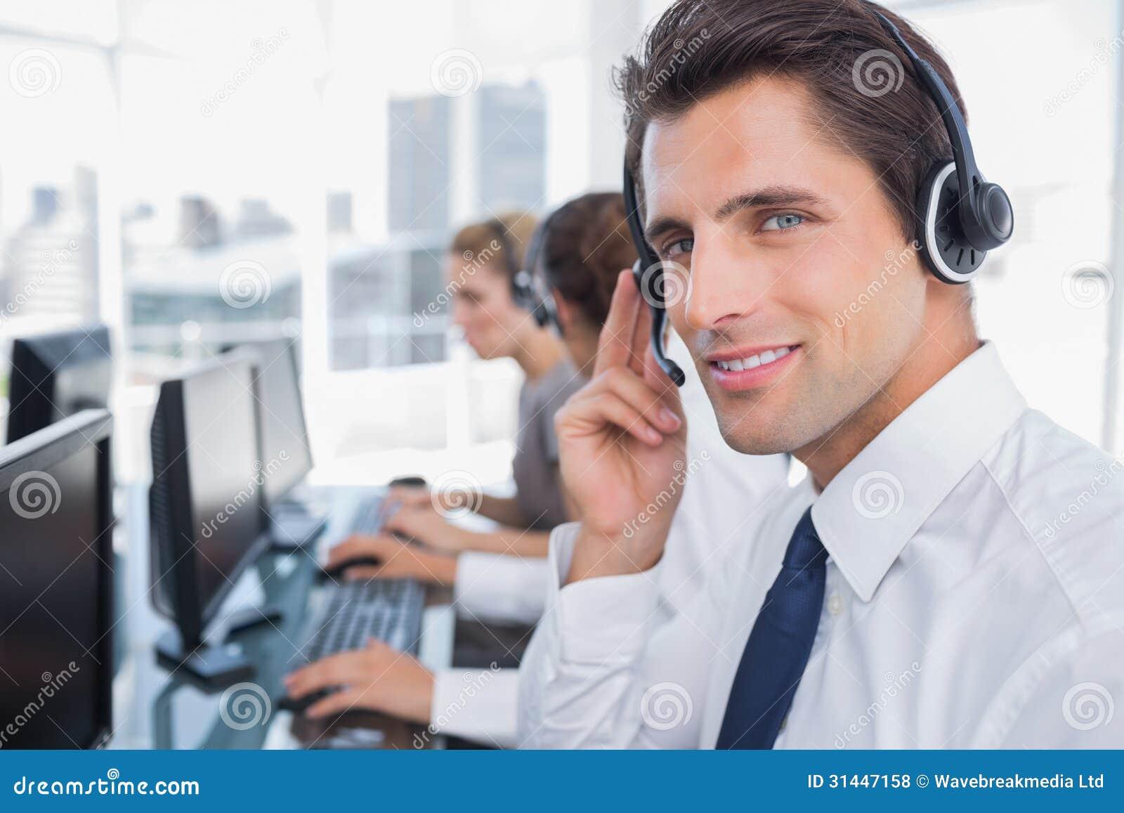 Πορτρέτο ενός βέβαιου πράκτορα τηλεφωνικών κέντρων
