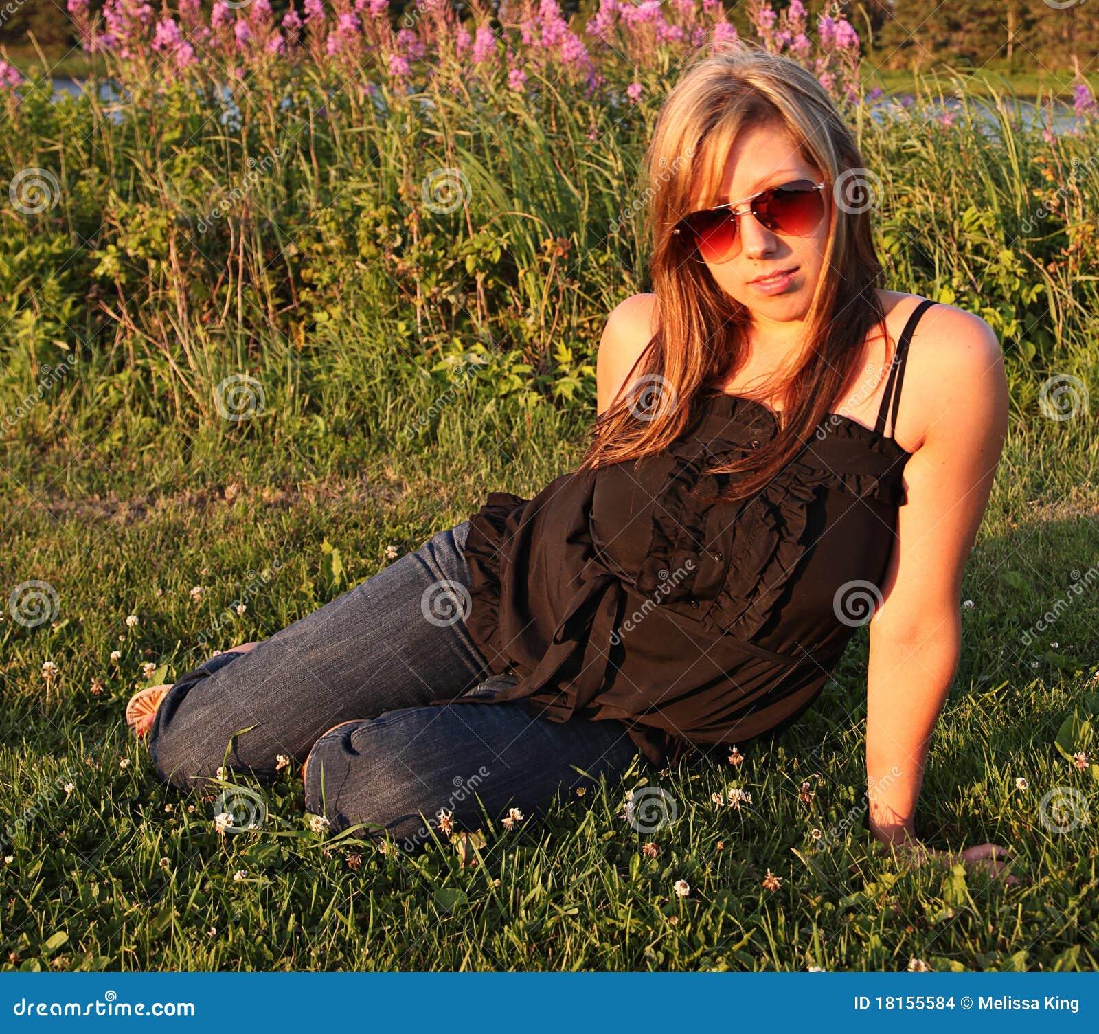Πορτρέτο μιας όμορφης γυναίκας