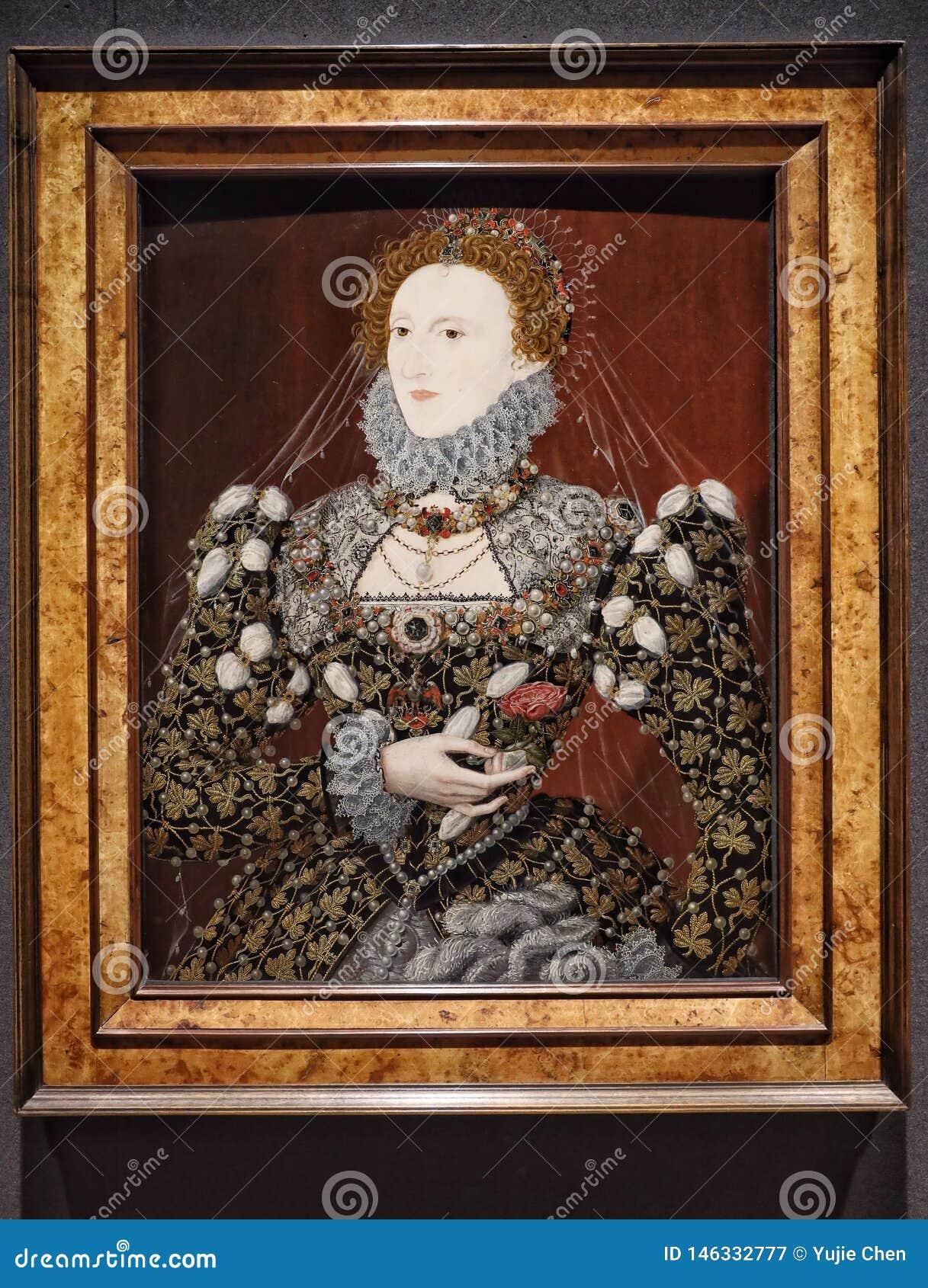 Πορτρέτο της βασίλισσας Elizabeth I