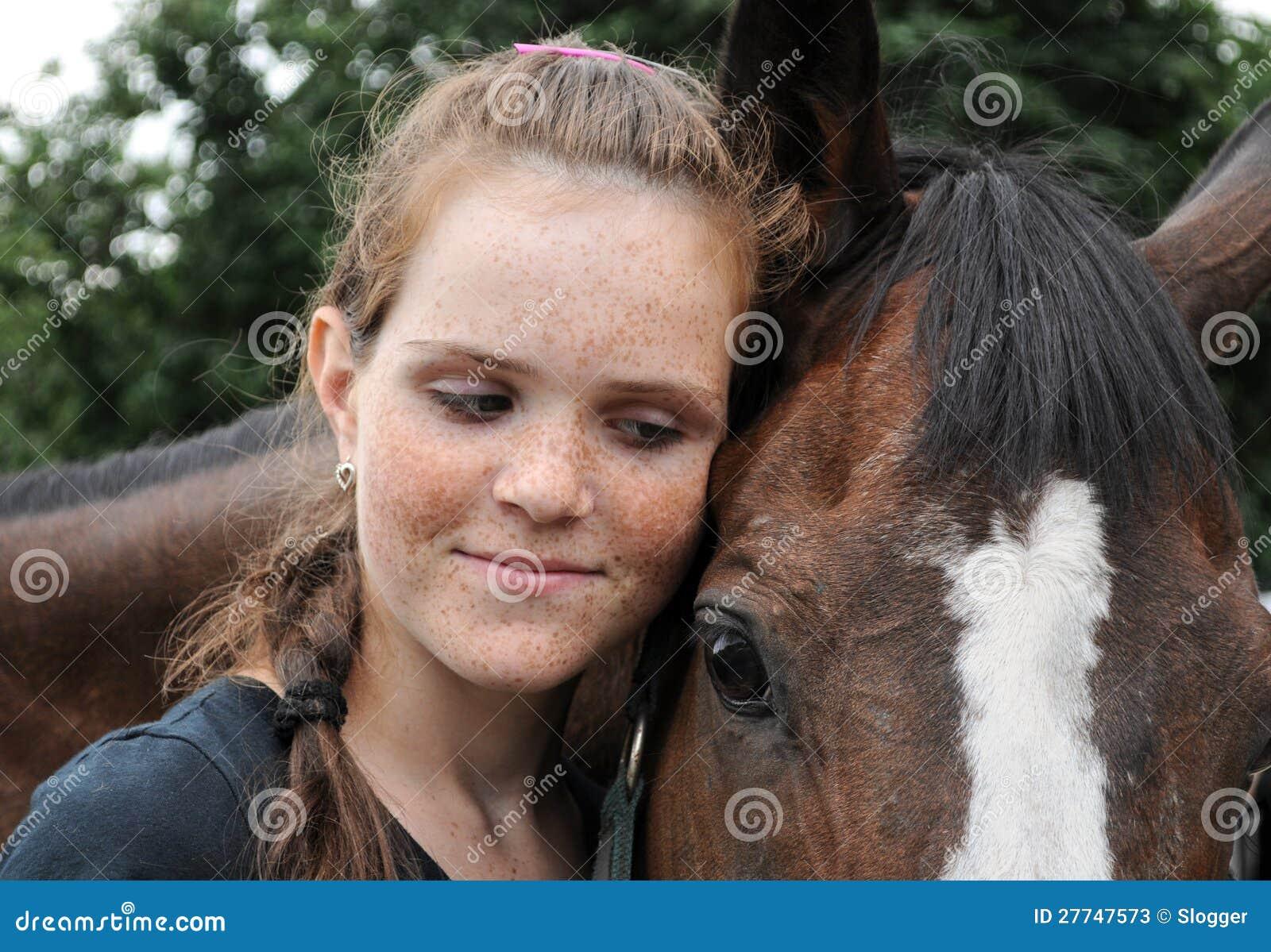 Πορτρέτο του έφηβη και του αλόγου