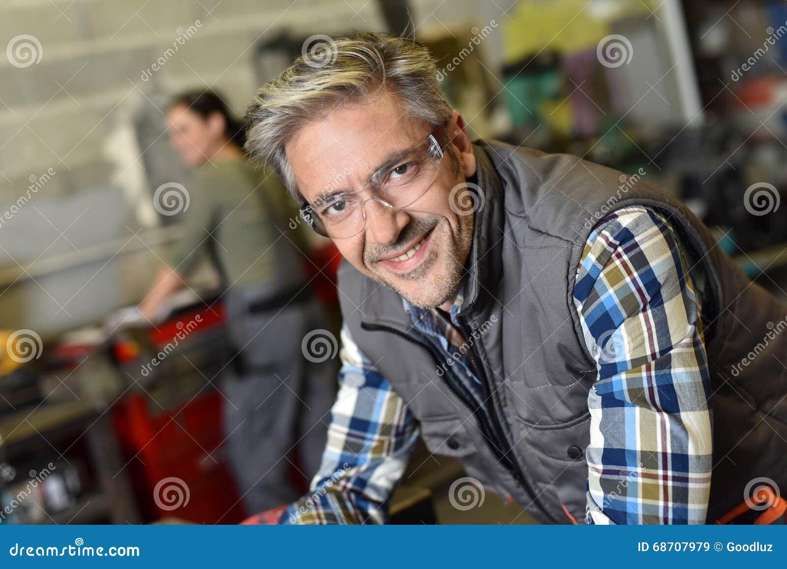 Πορτρέτο του μεταλλουργού