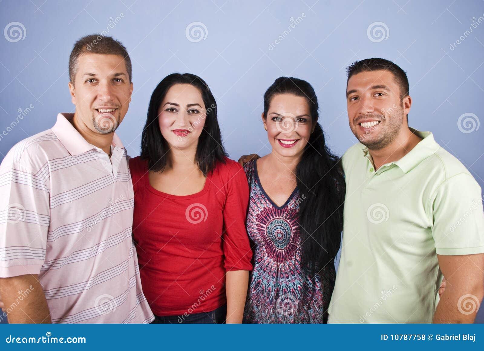 Πορτρέτο των ευτυχών ζευγών