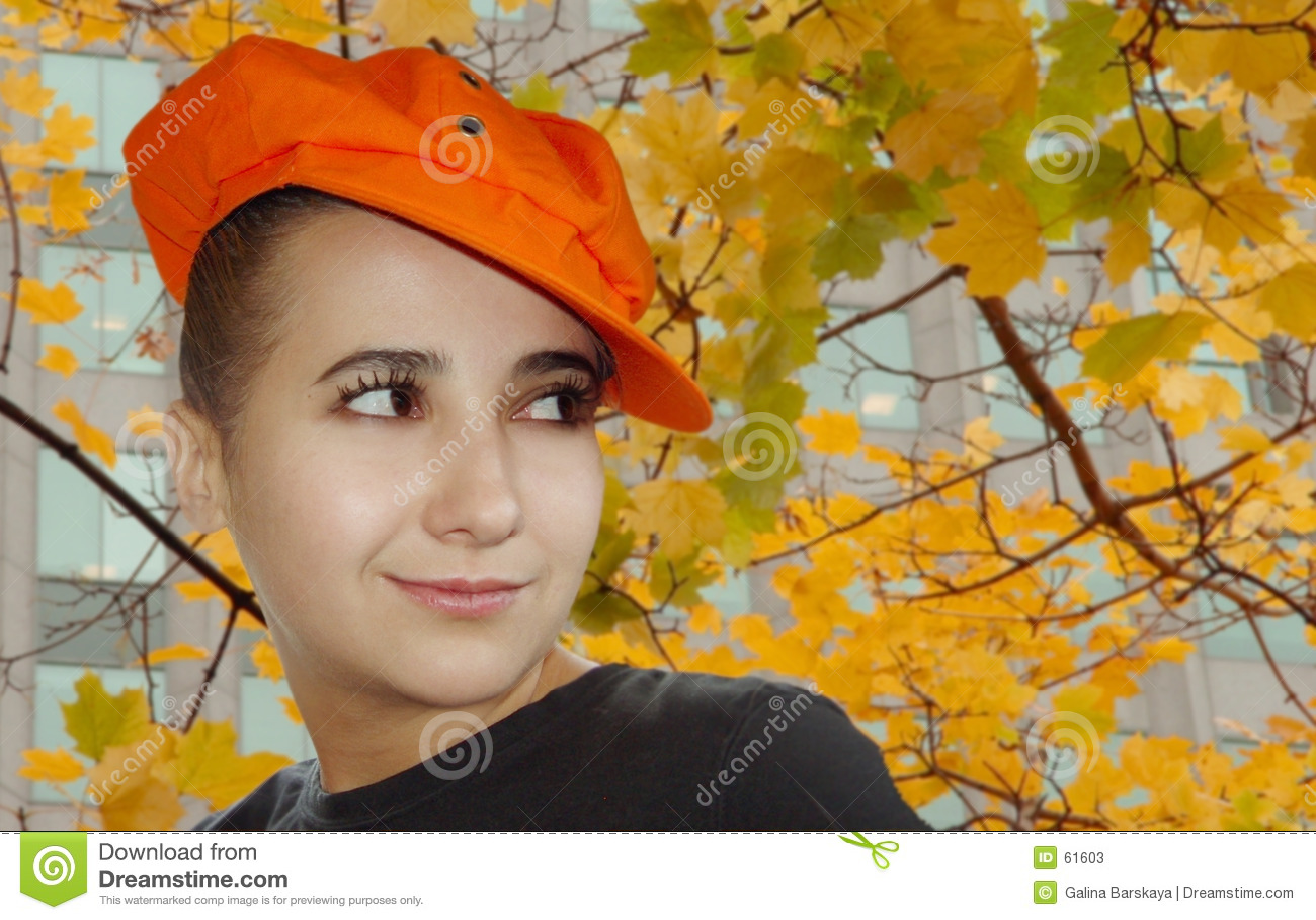 πορτρέτο φθινοπώρου