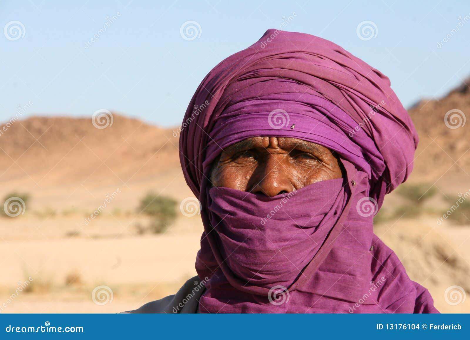 πορτρέτο tuareg