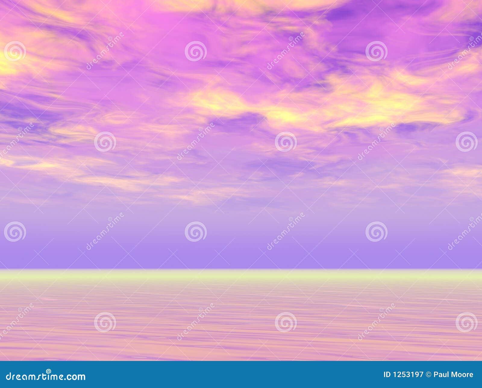 πορφυροί ουρανοί