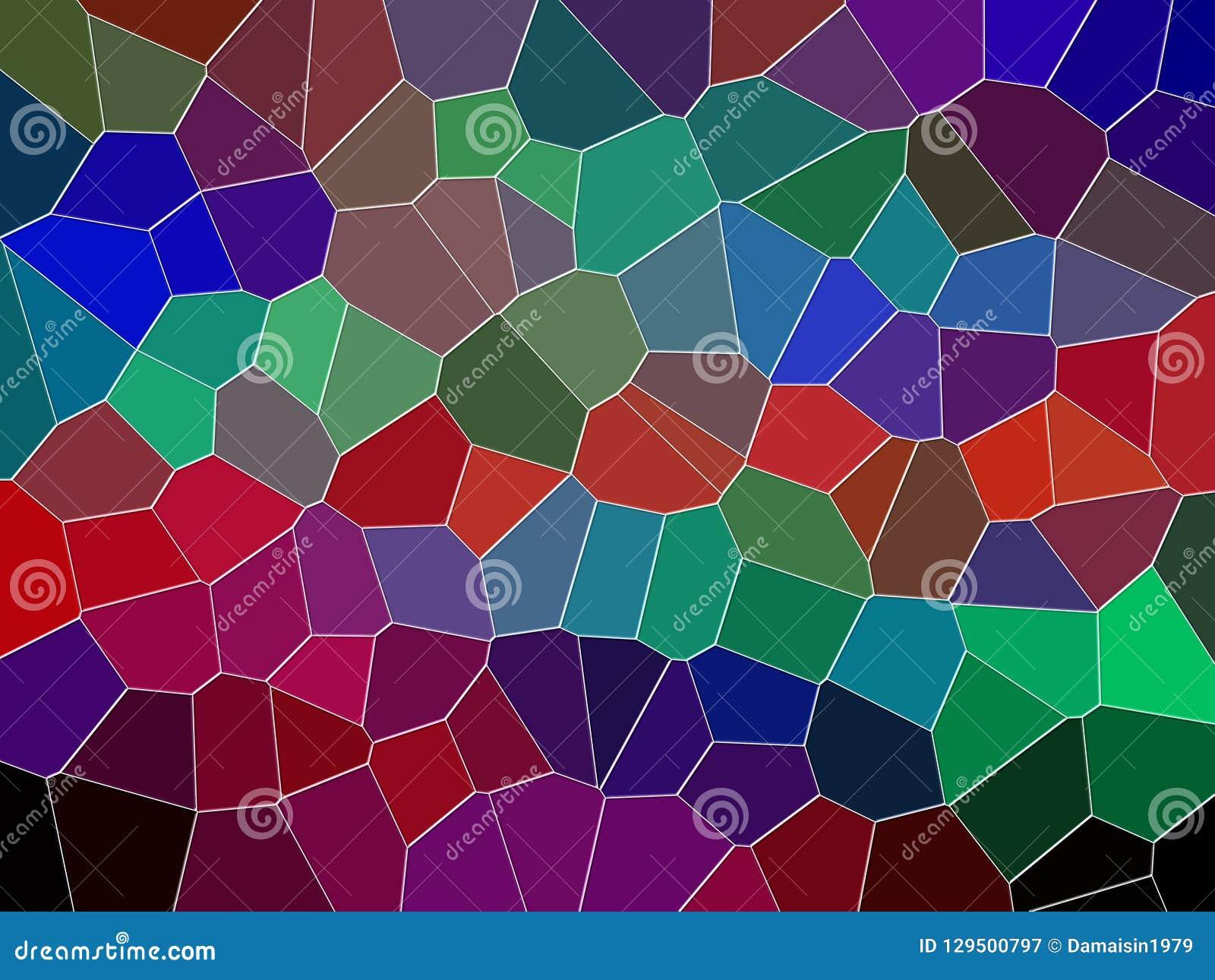 Πορφυρό σκούρο κόκκινο πράσινο υπόβαθρο γεωμετρίας, γραφική παράσταση, αφηρημένες υπόβαθρο και σύσταση