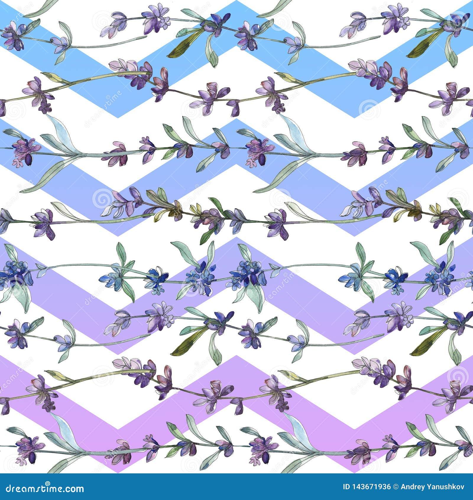 Πορφυρό lavender floral βοτανικό λουλούδι r r