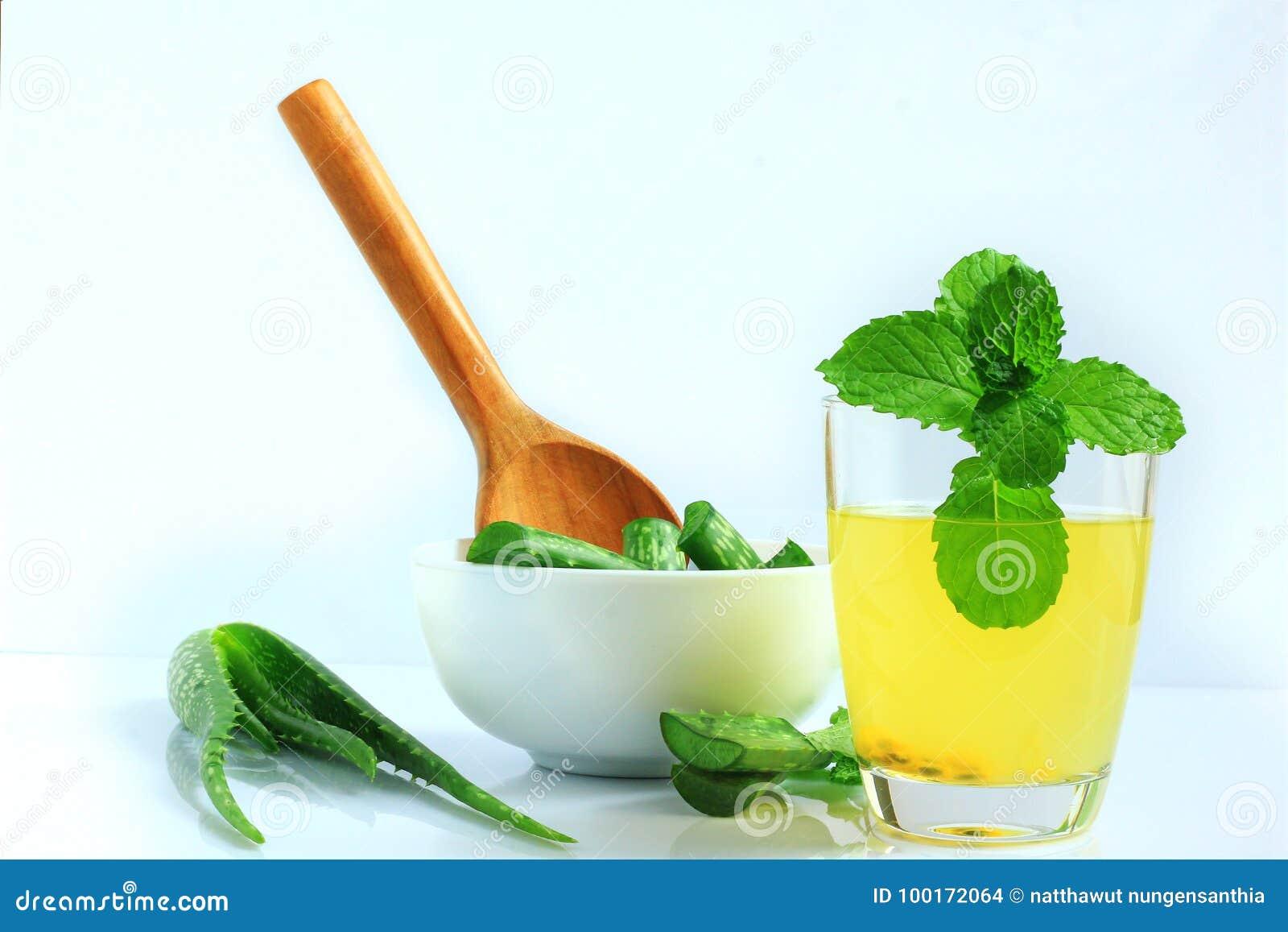 Ποτά από aloe Βέρα για την υγεία