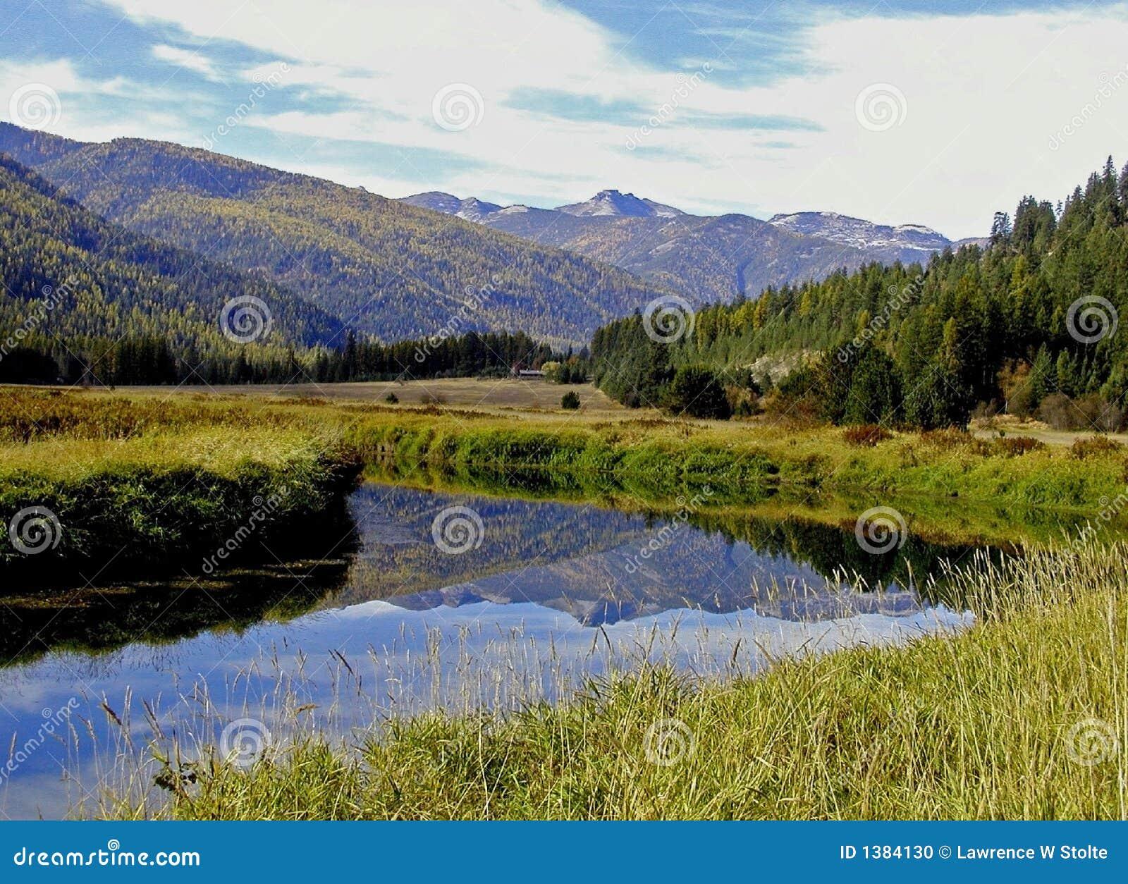 ποταμός αντανάκλασης ταύρων