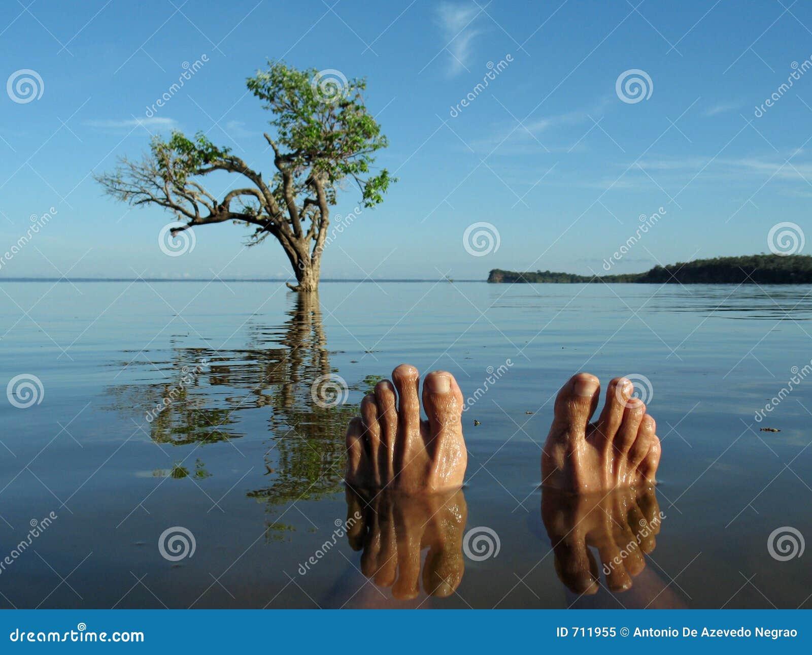 ποταμός ποδιών