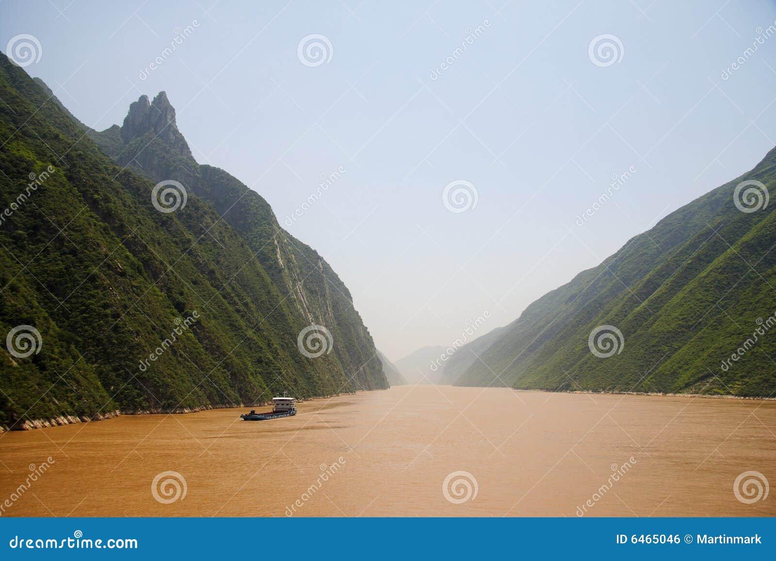 ποταμός της Κίνας yangtze