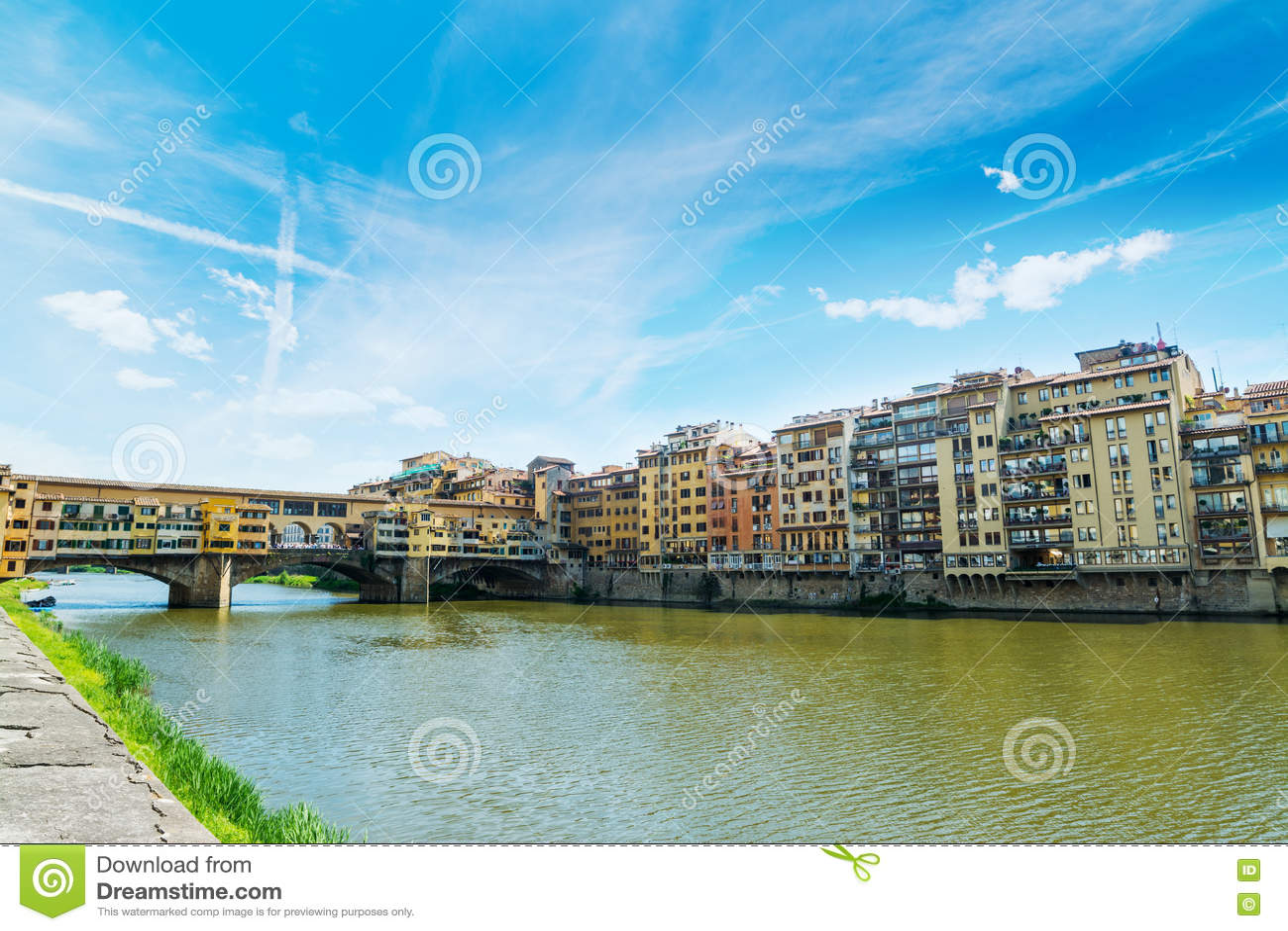 ποταμός της Φλωρεντίας arno