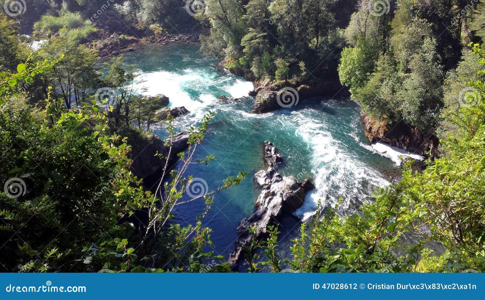 Ποταμός Huilo Huilo - Χιλή