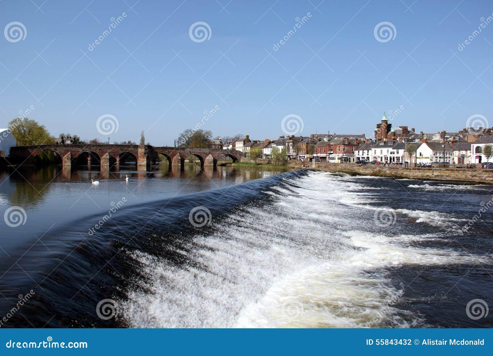 Ποταμός Nith Dumfries, Σκωτία