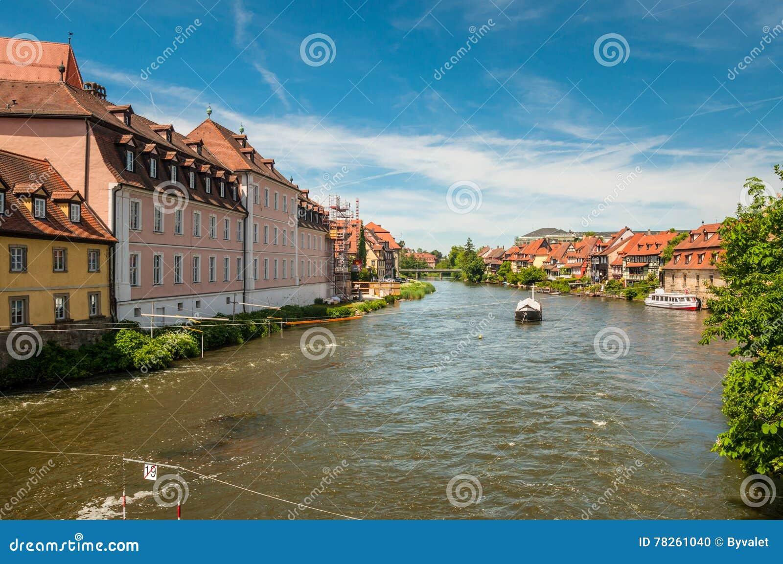 Ποταμός Regnitz στη Βαμβέργη