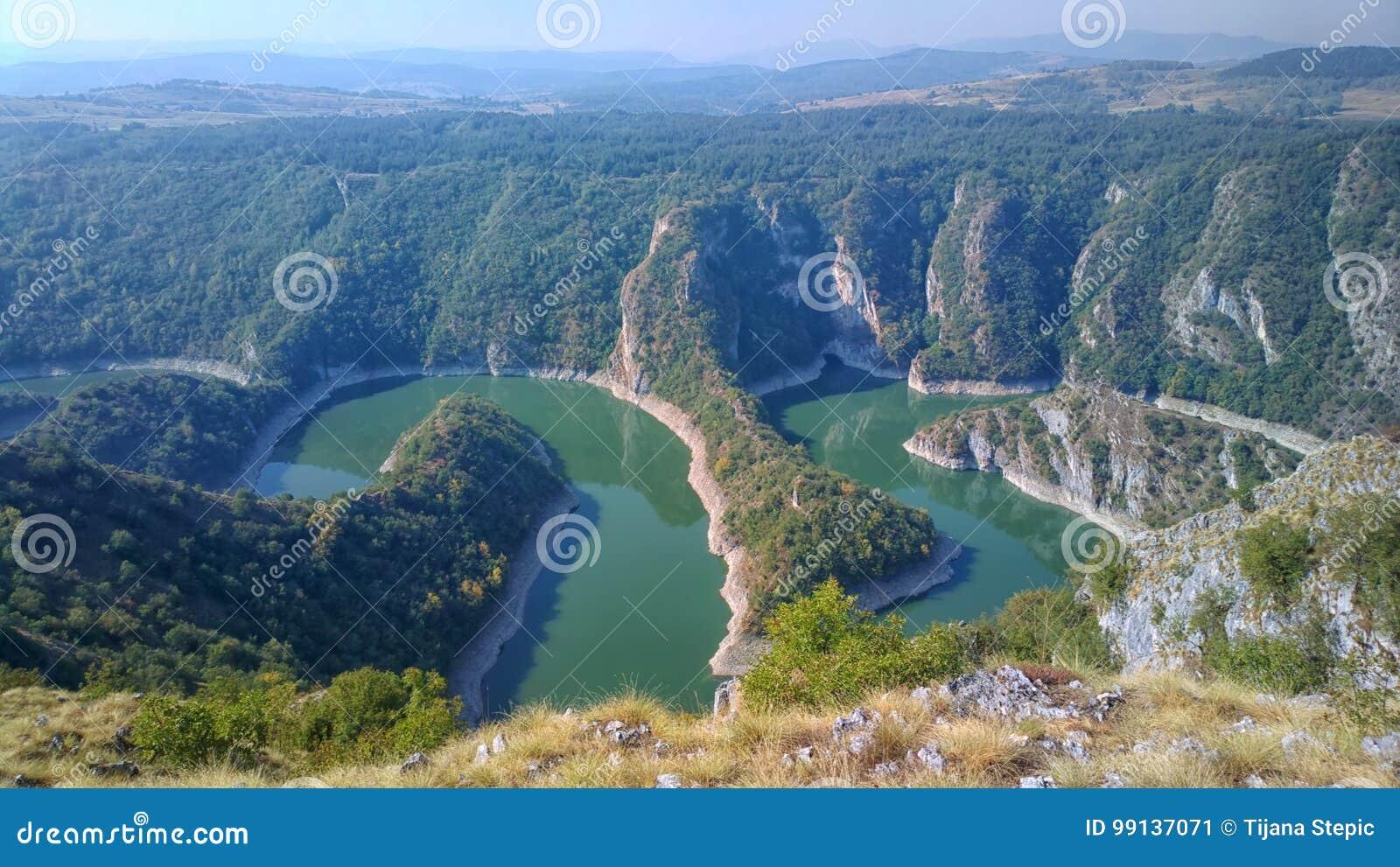 Ποταμός Uvac, Σερβία