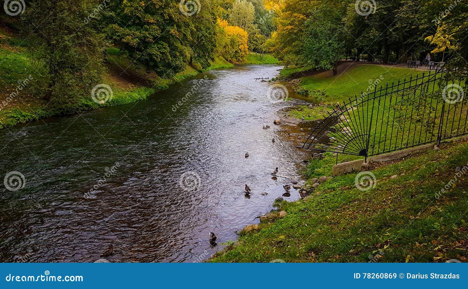 Ποταμός Vilnia σε Vilnius