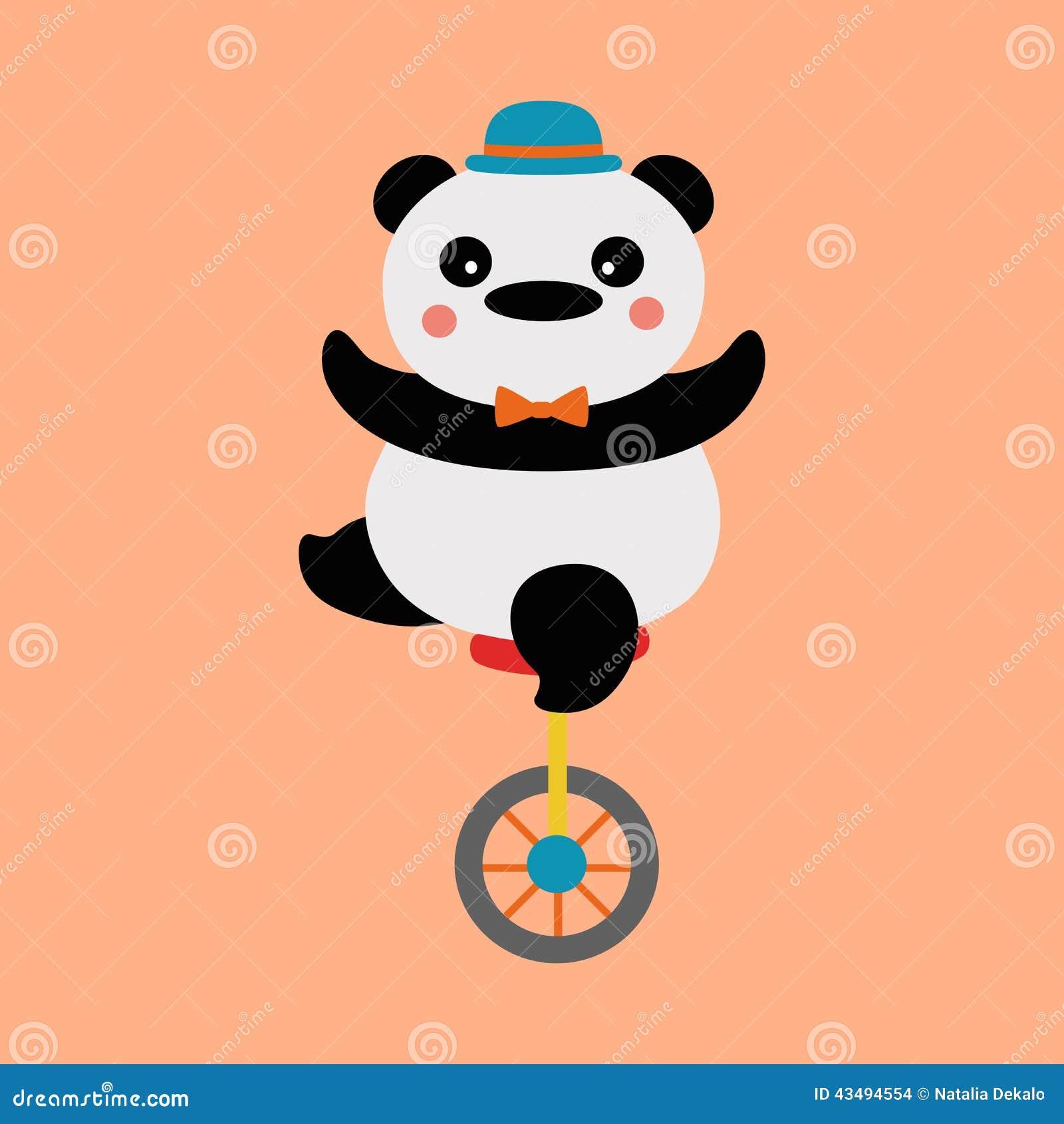 Ποδηλάτης της Panda