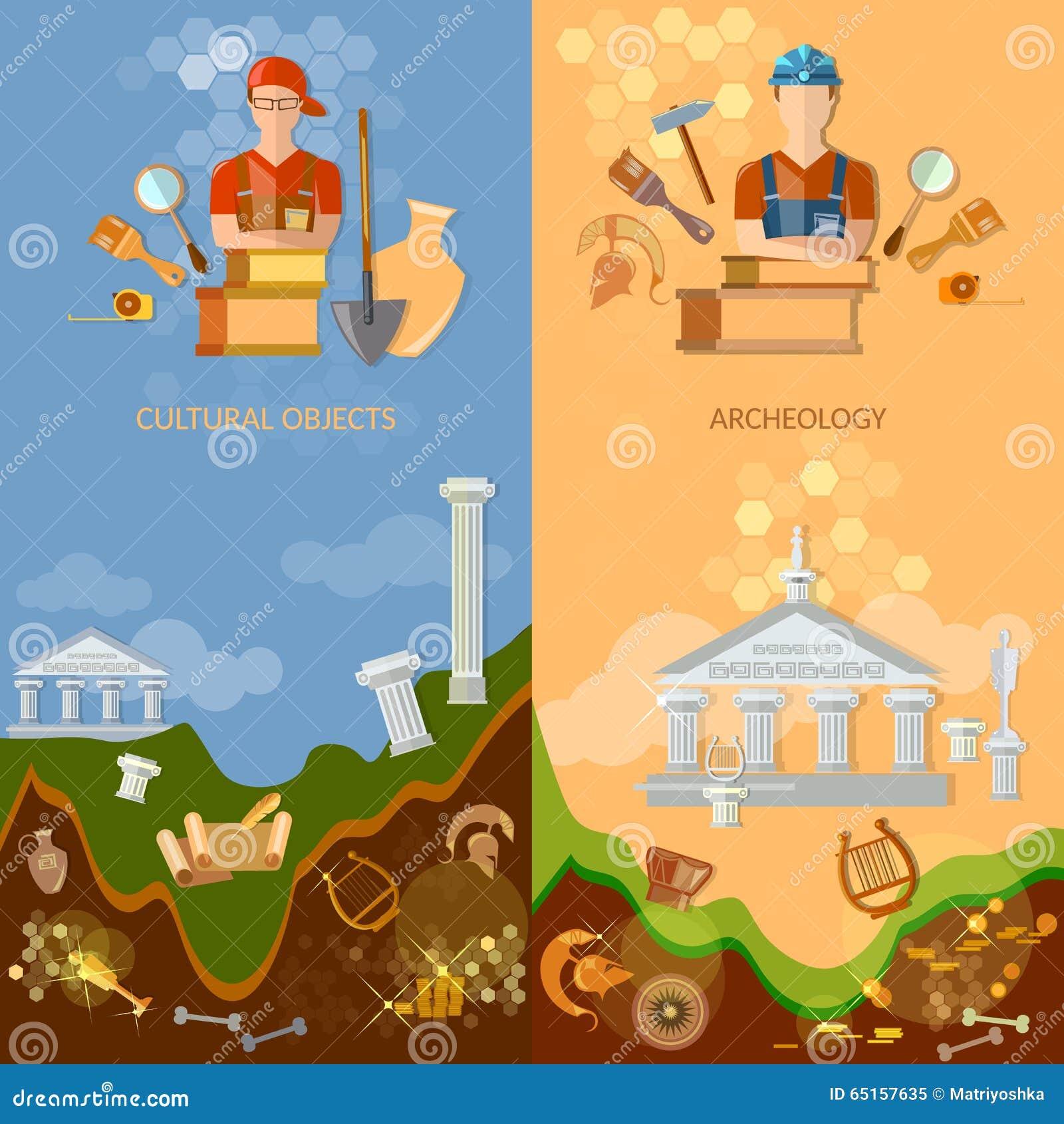 Πολιτιστικά αντικείμενα εμβλημάτων αρχαιολογίας