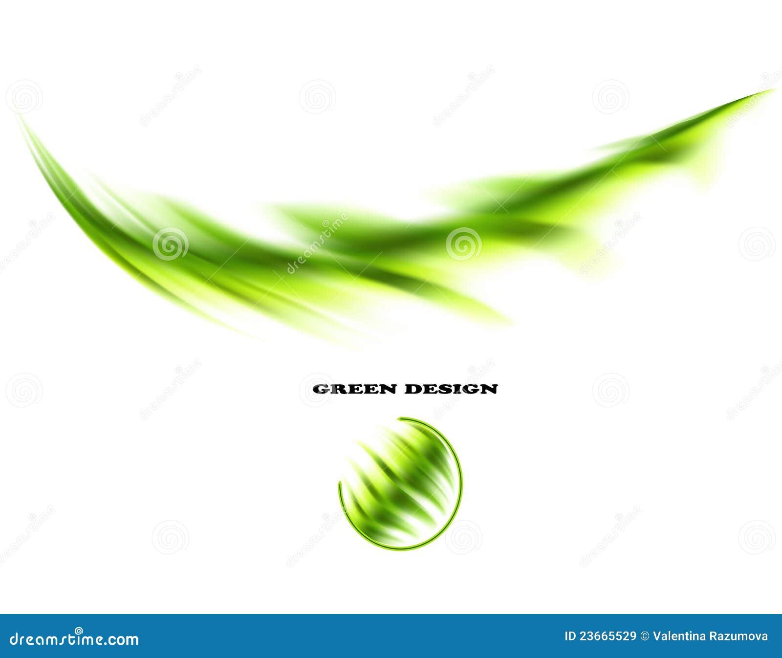 Πράσινα αφηρημένα στοιχεία