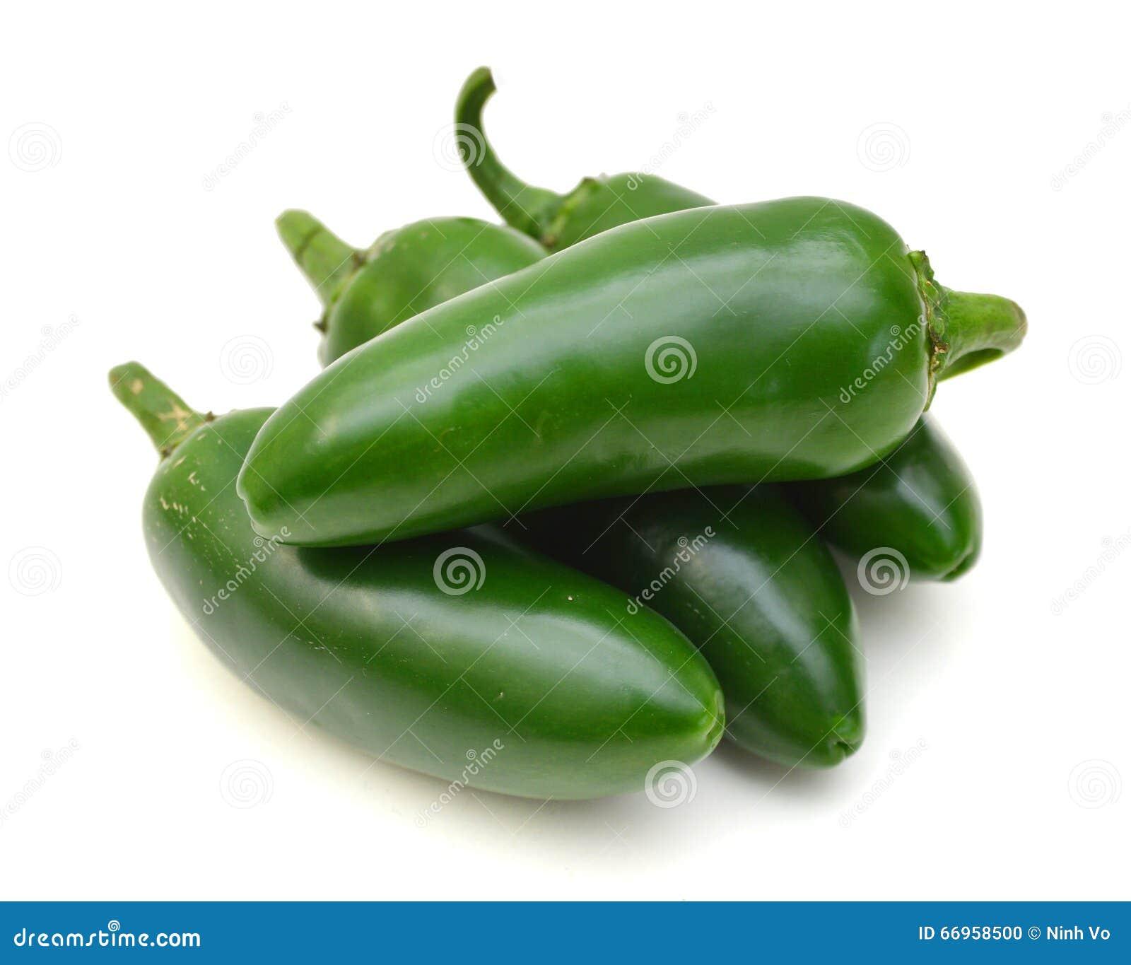 Πράσινα πιπέρια τσίλι