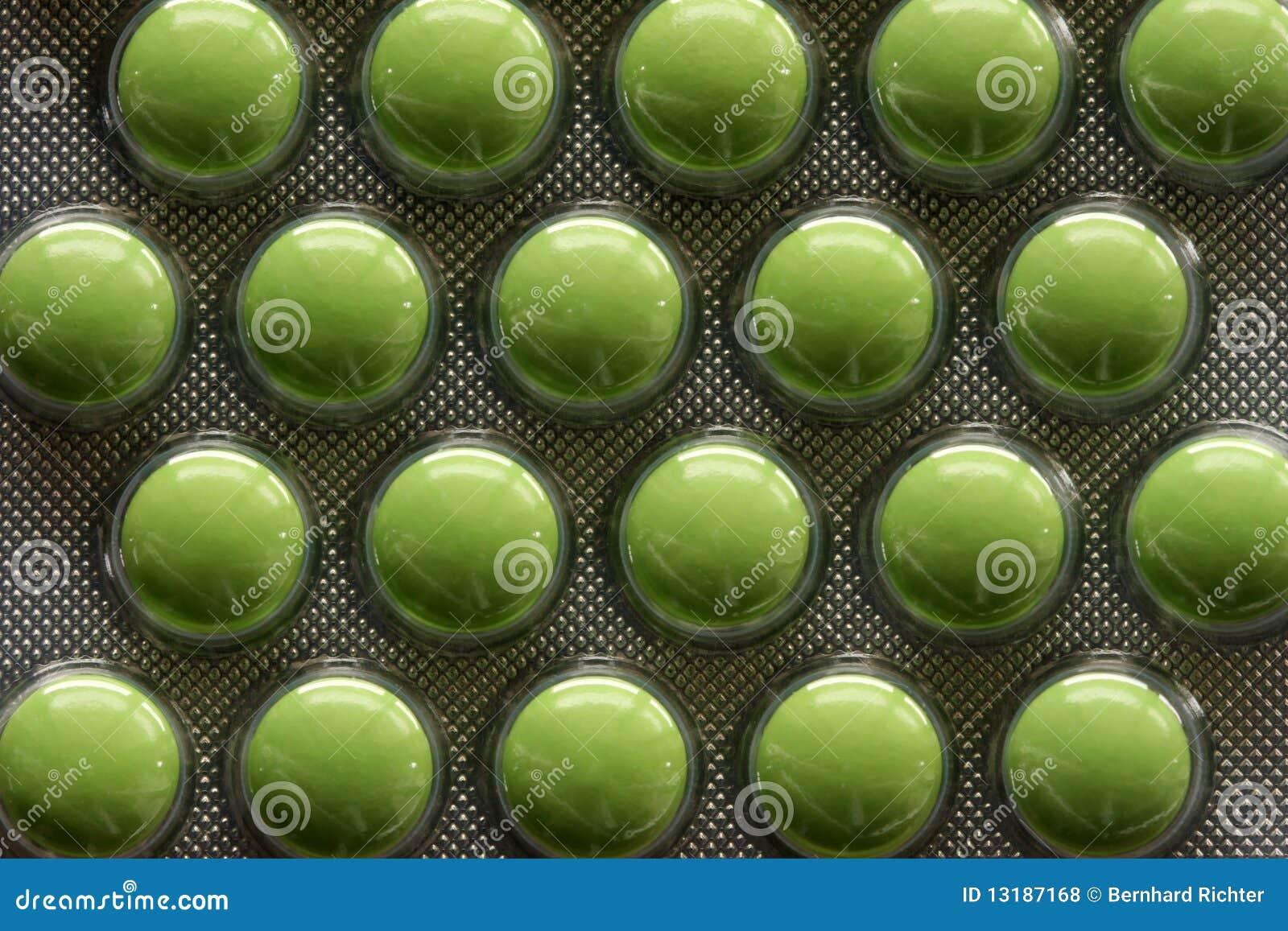 πράσινα χάπια