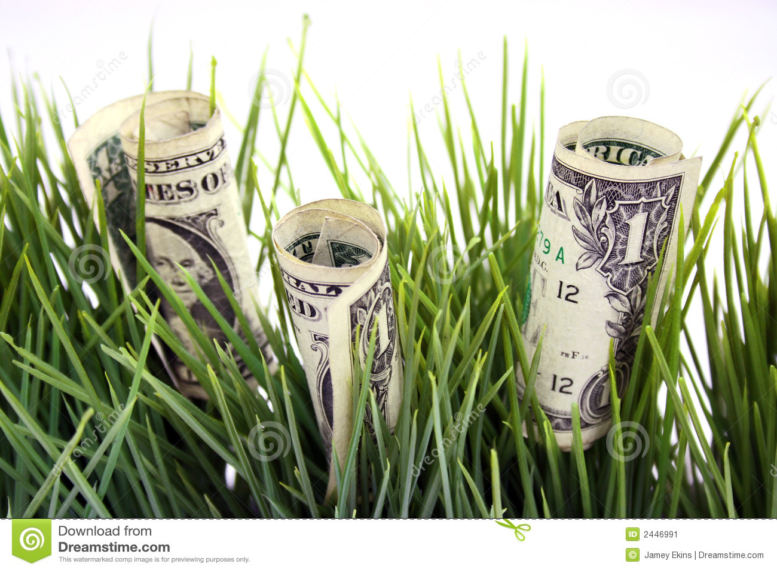πράσινα χρήματα χλόης
