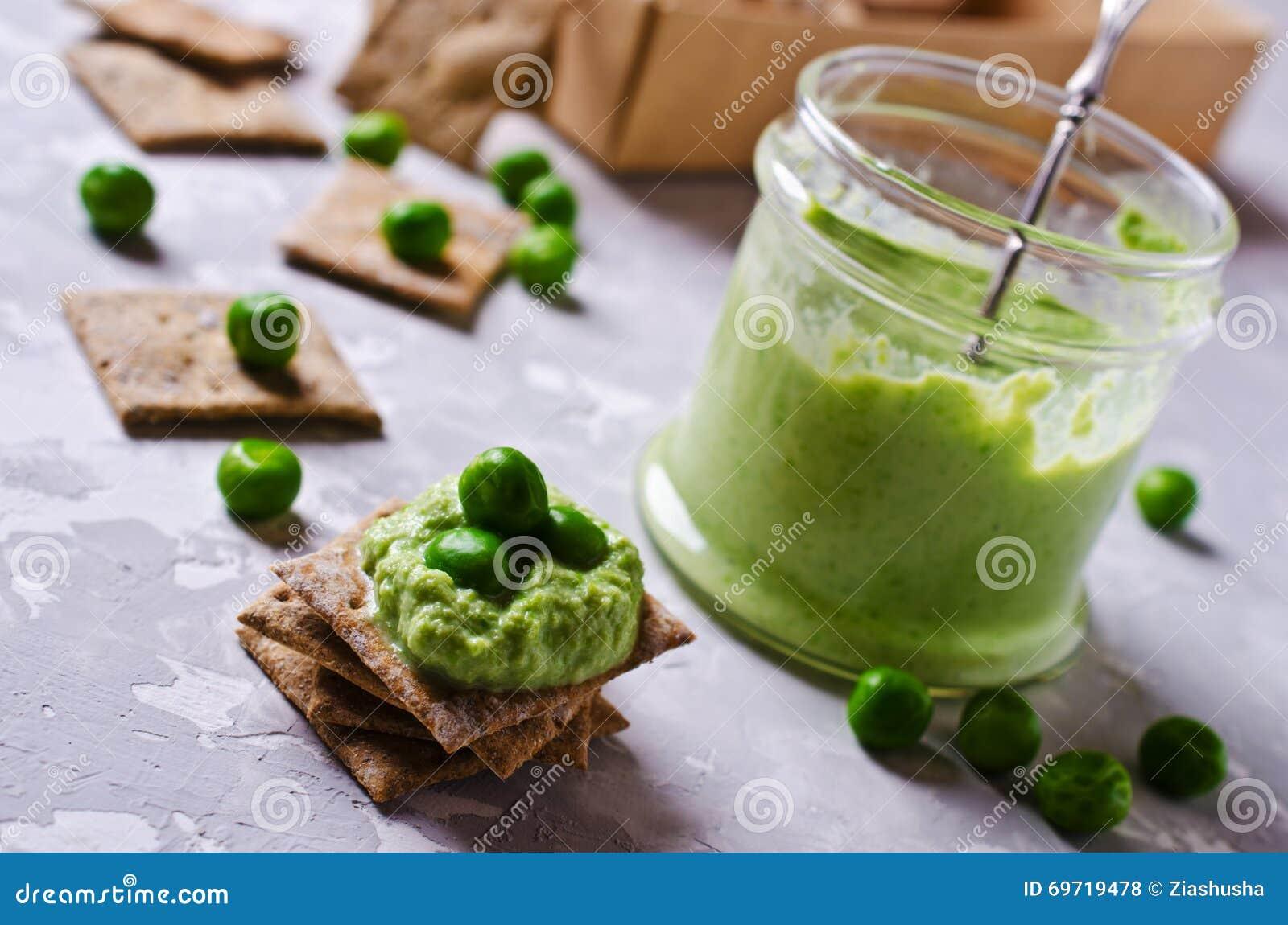 Πράσινη εμβύθιση μπιζελιών