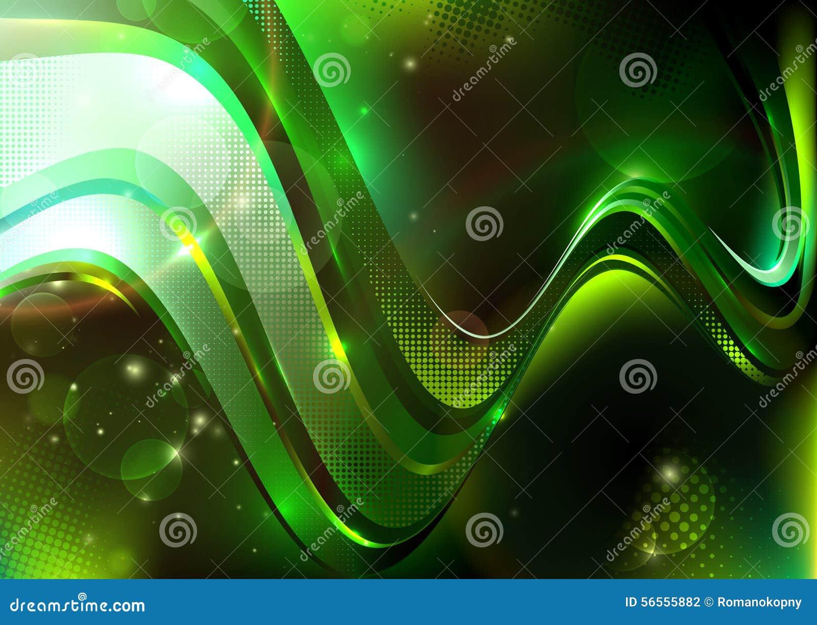 Download Πράσινη διαστιγμένη σύνθεση Διανυσματική απεικόνιση - εικονογραφία από ροή, απεικόνιση: 56555882