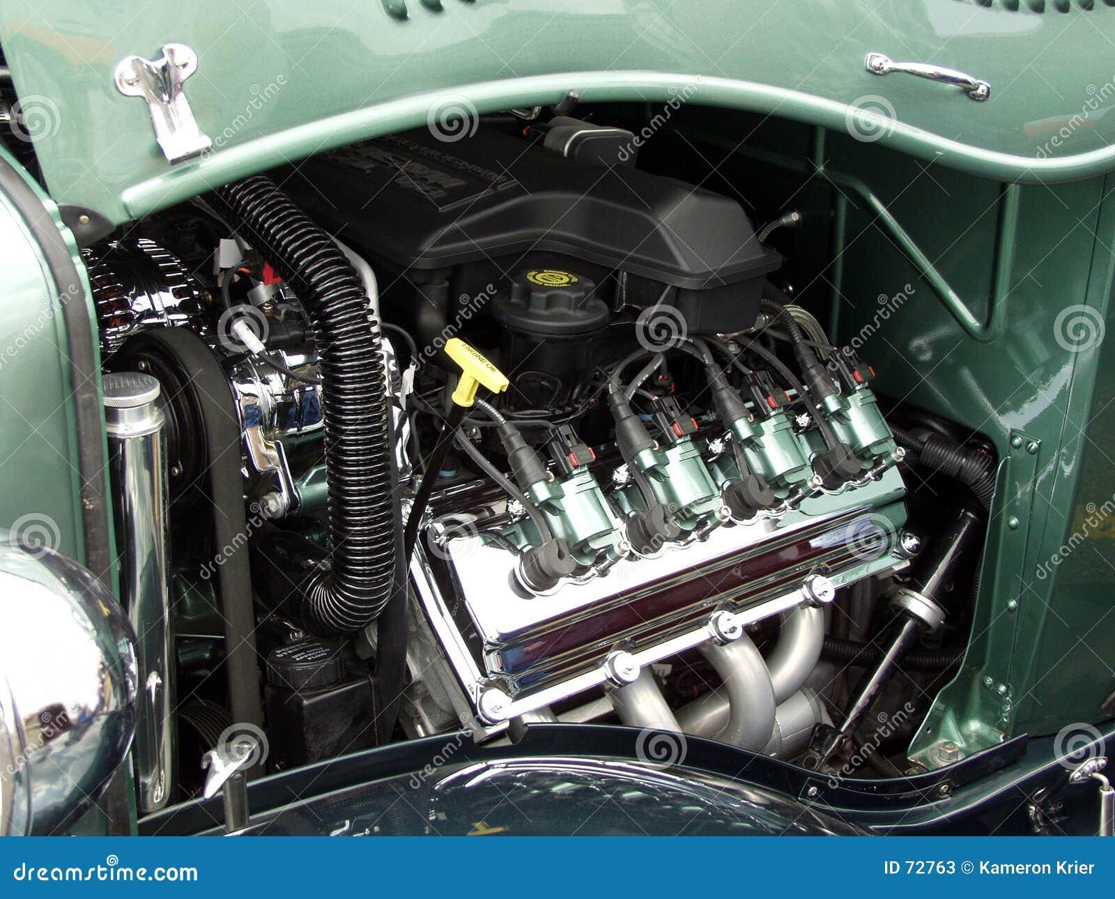 πράσινη καυτή ράβδος μηχανών