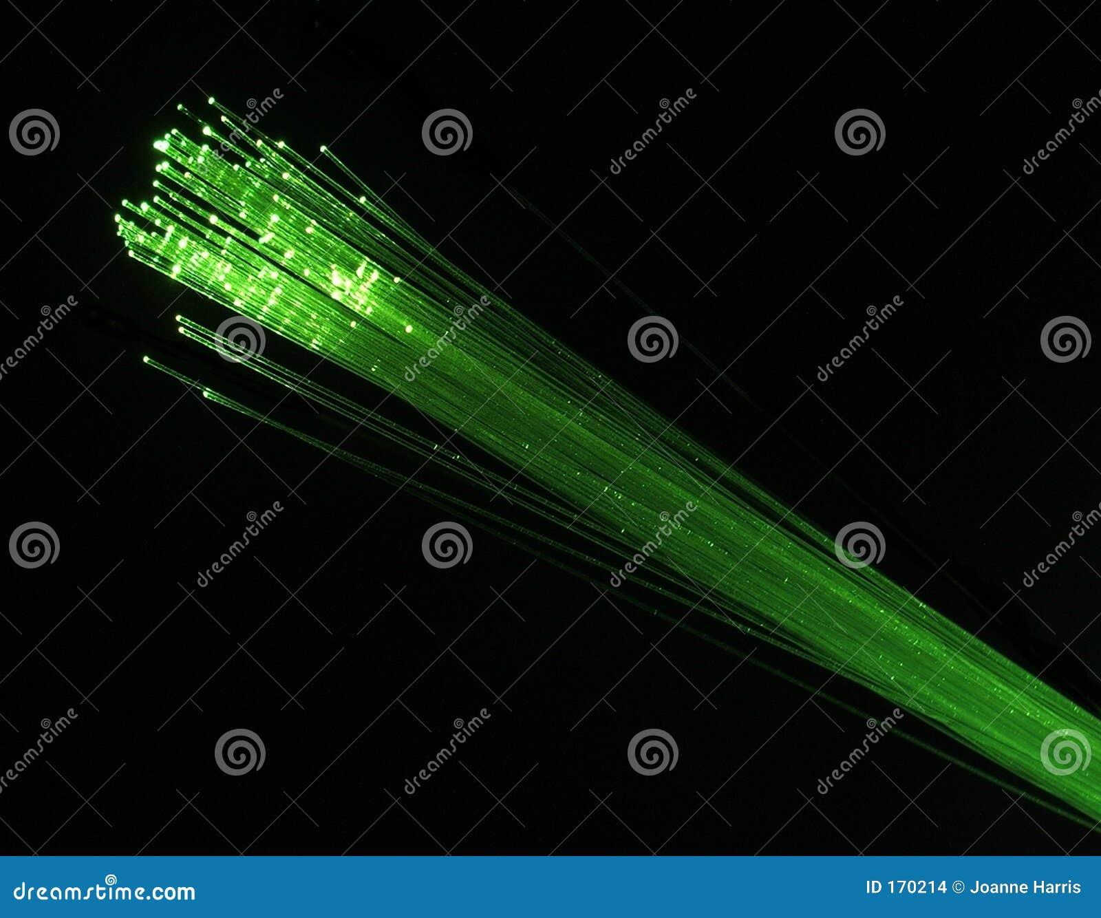 πράσινη οπτική ινών