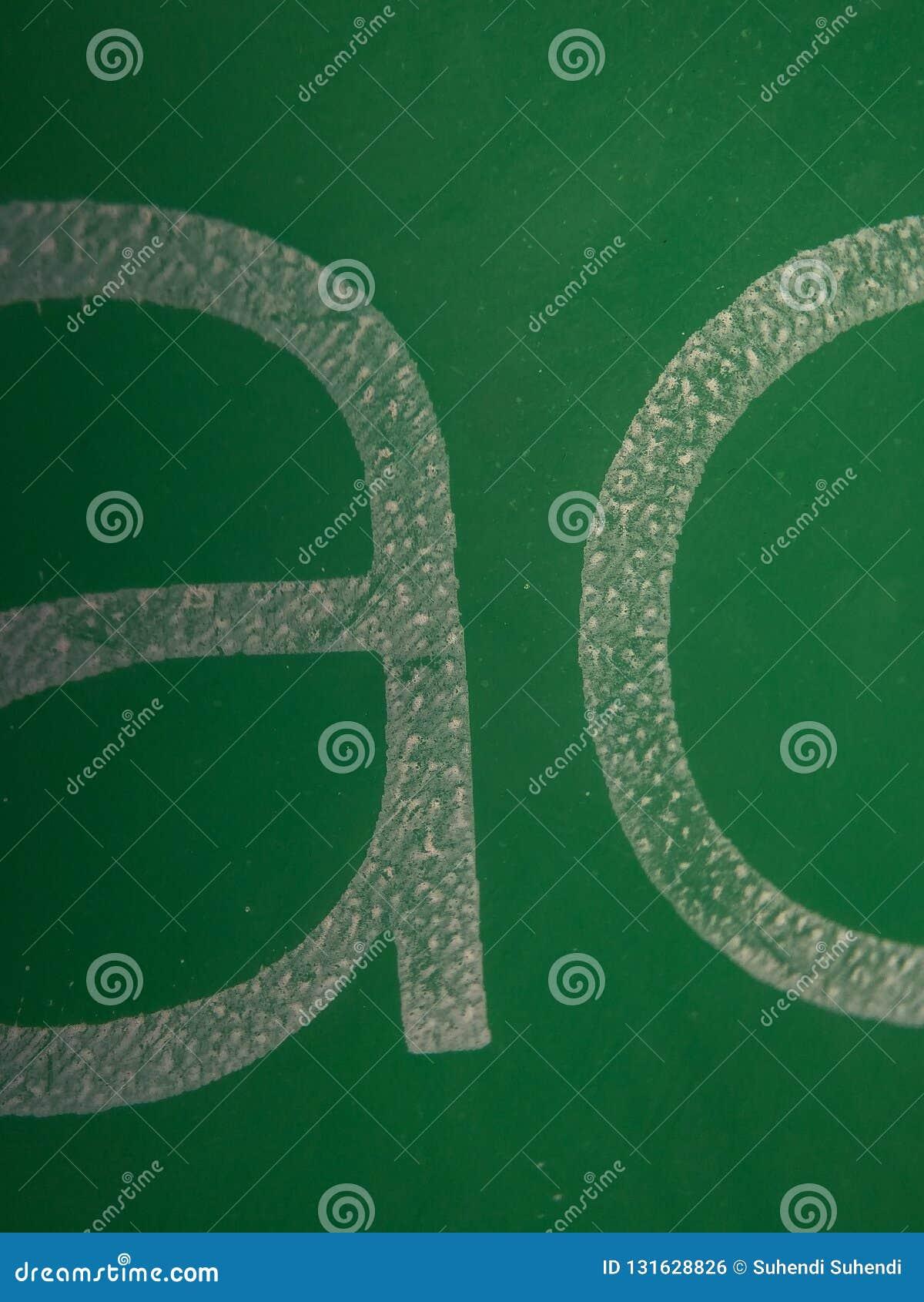 Πράσινη σύσταση μπαλονιών