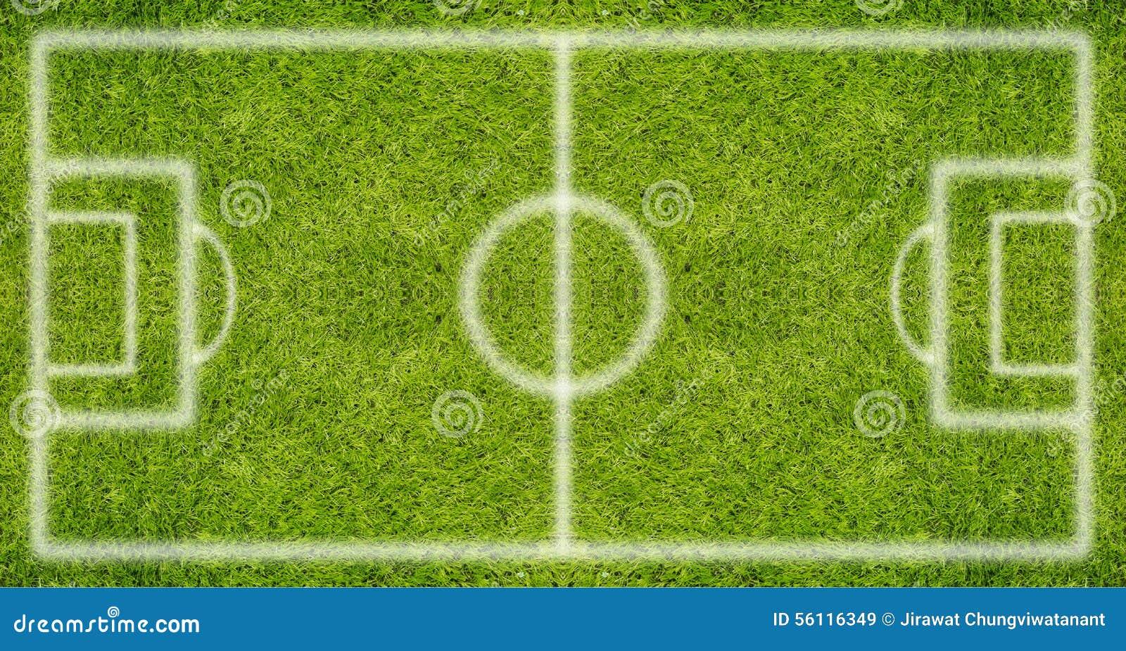 πράσινη σύσταση χλόης ποδοσφαίρου πεδίων ανασκόπησης