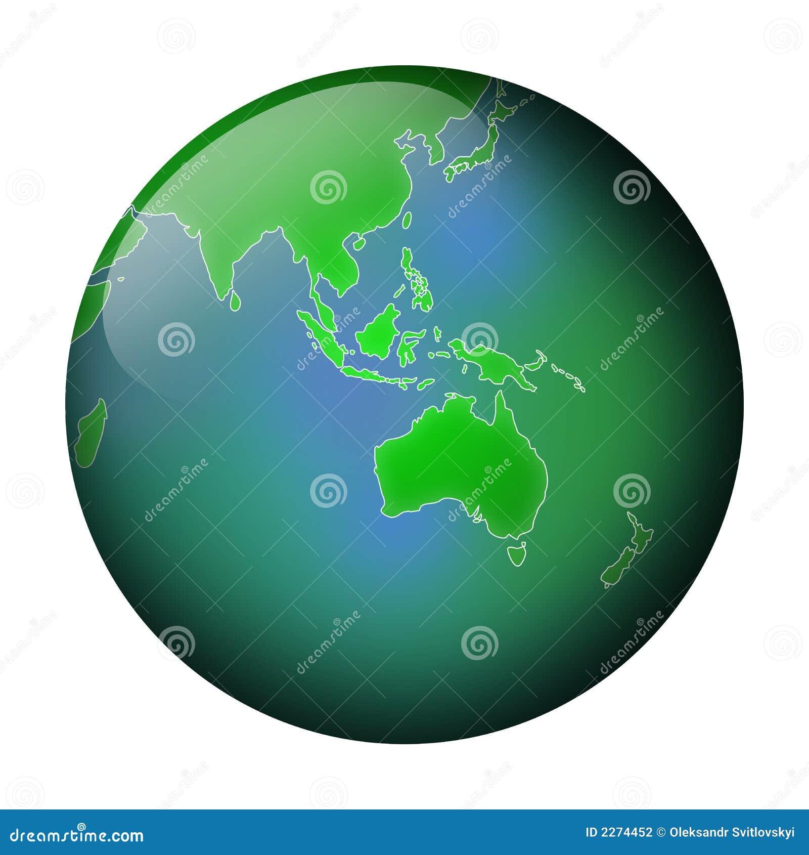 πράσινη όψη σφαιρών