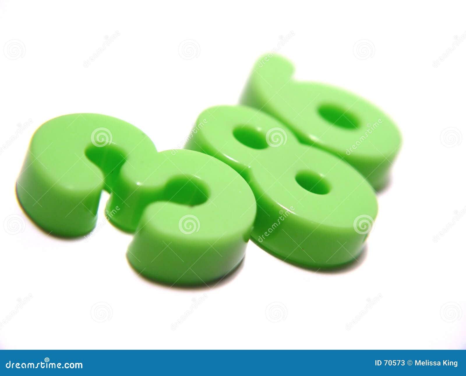 πράσινοι αριθμοί
