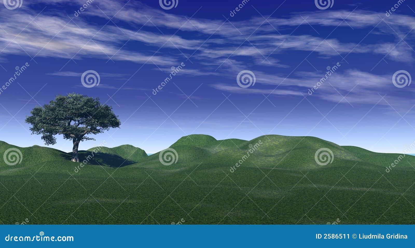 πράσινοι λόφοι